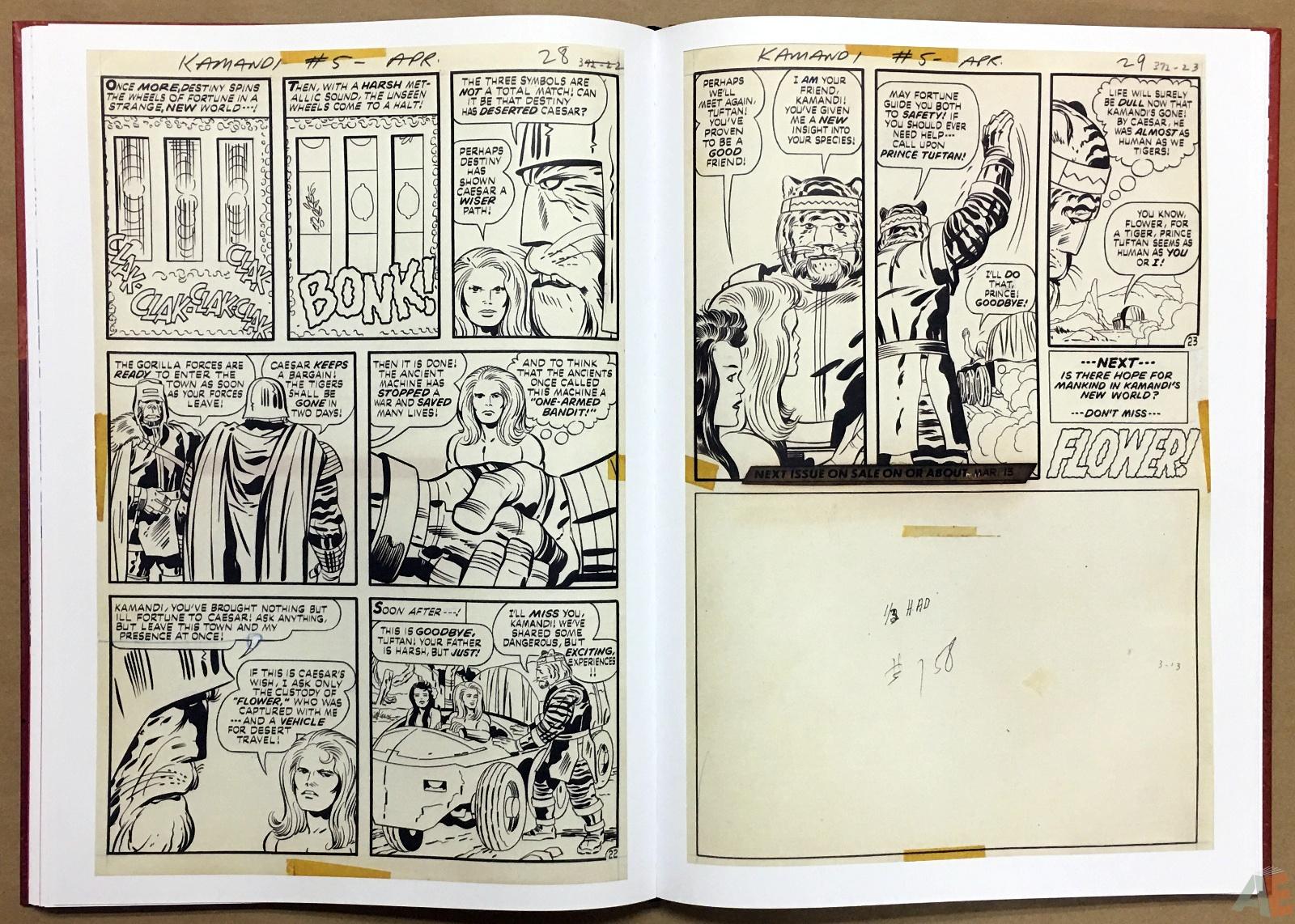 Jack Kirby Kamandi The Last Boy On Earth Artist's Edition 24