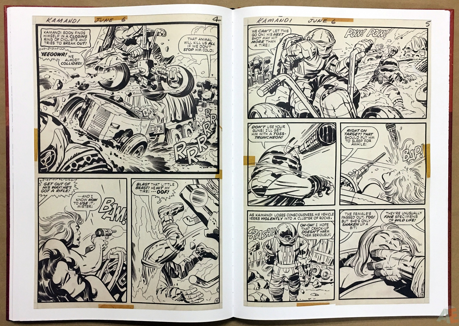 Jack Kirby Kamandi The Last Boy On Earth Artist's Edition 26