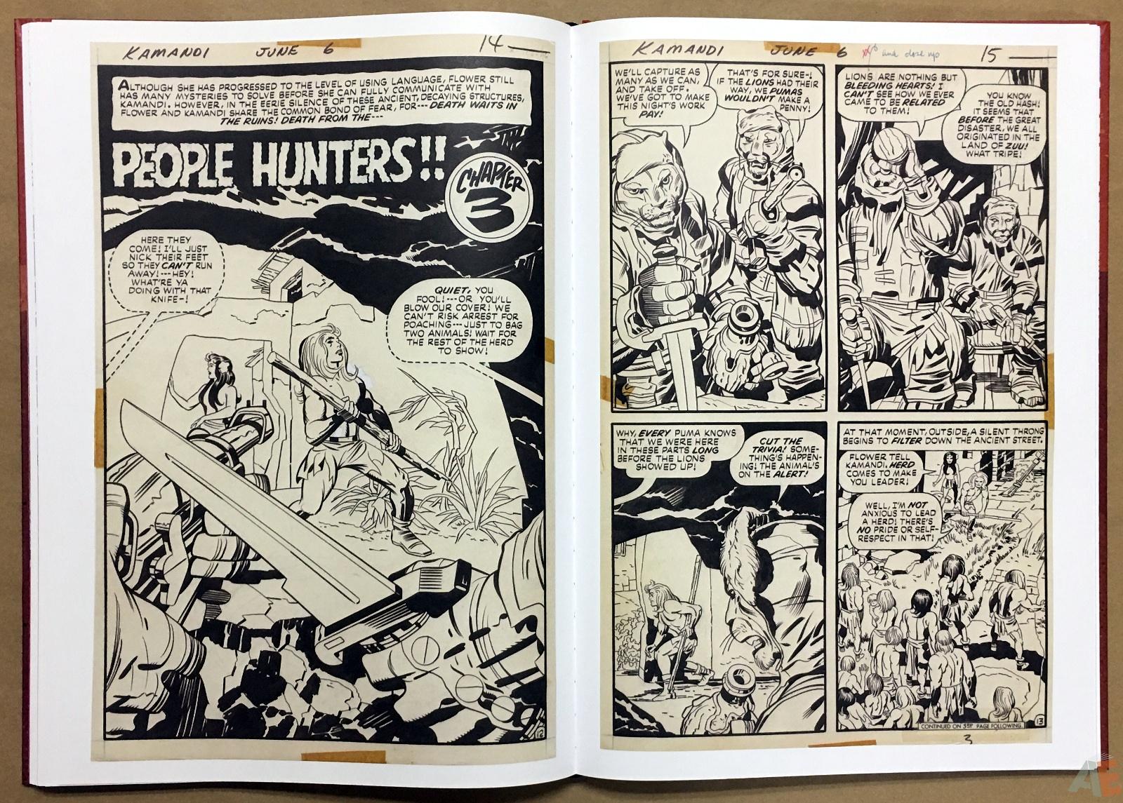 Jack Kirby Kamandi The Last Boy On Earth Artist's Edition 28