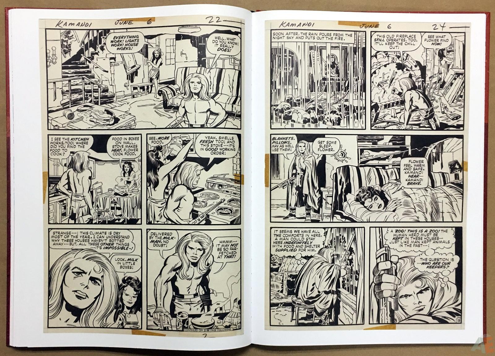 Jack Kirby Kamandi The Last Boy On Earth Artist's Edition 30