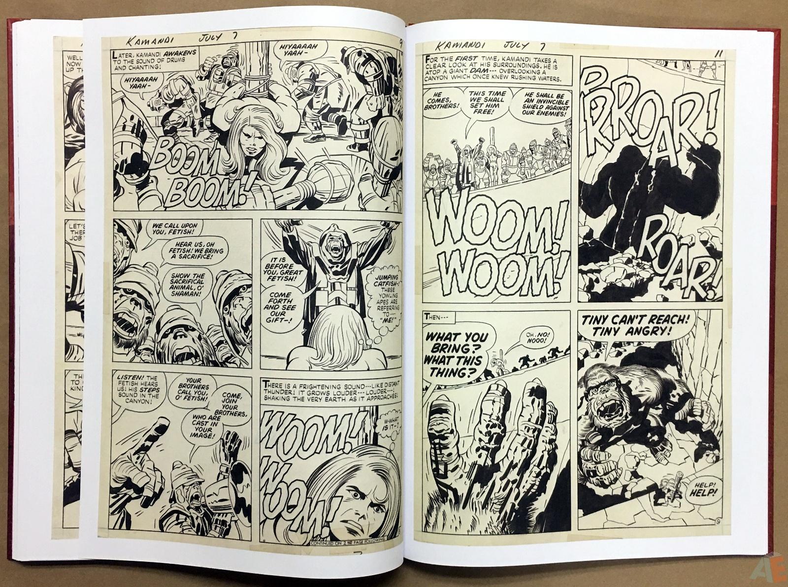 Jack Kirby Kamandi The Last Boy On Earth Artist's Edition 32