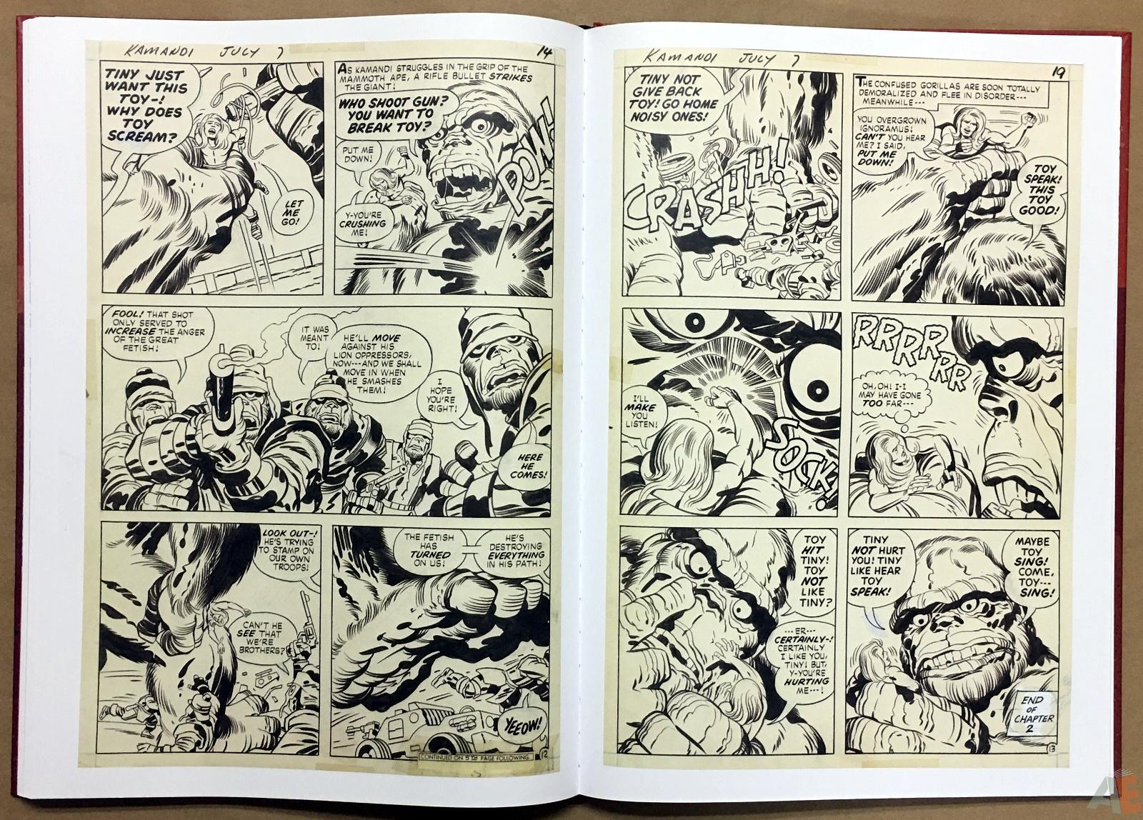 Jack Kirby Kamandi The Last Boy On Earth Artist's Edition 34