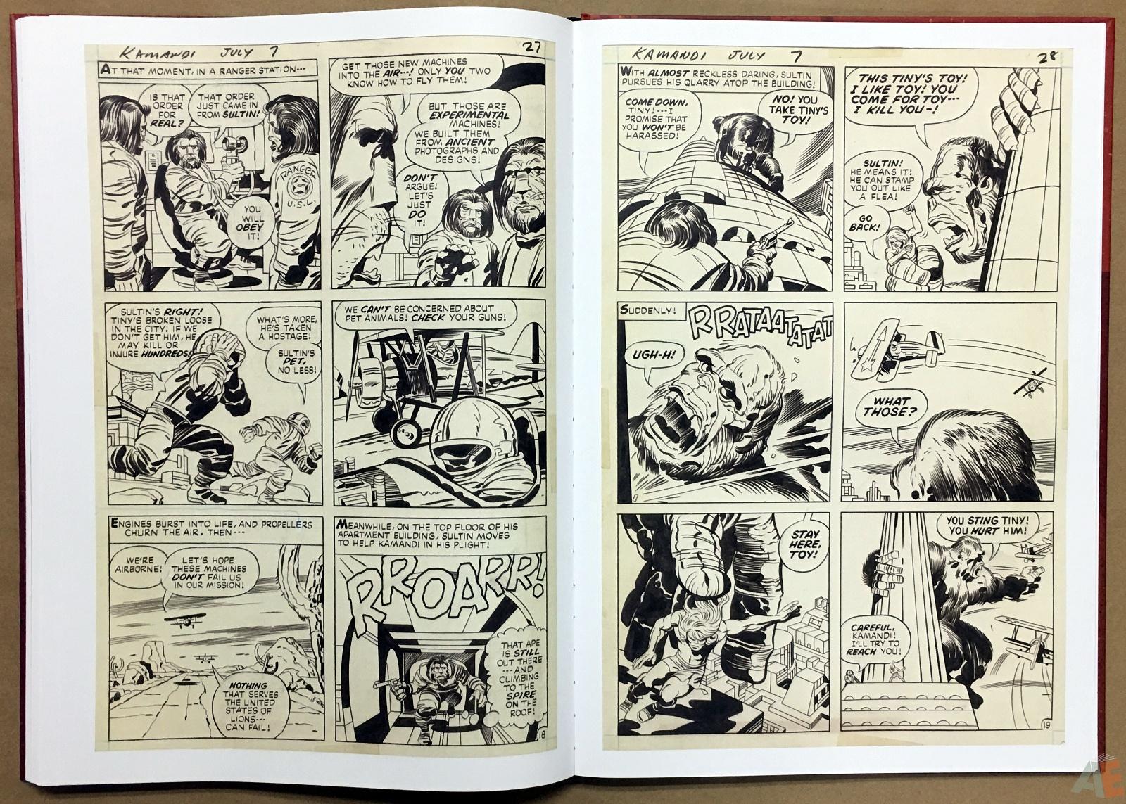 Jack Kirby Kamandi The Last Boy On Earth Artist's Edition 36