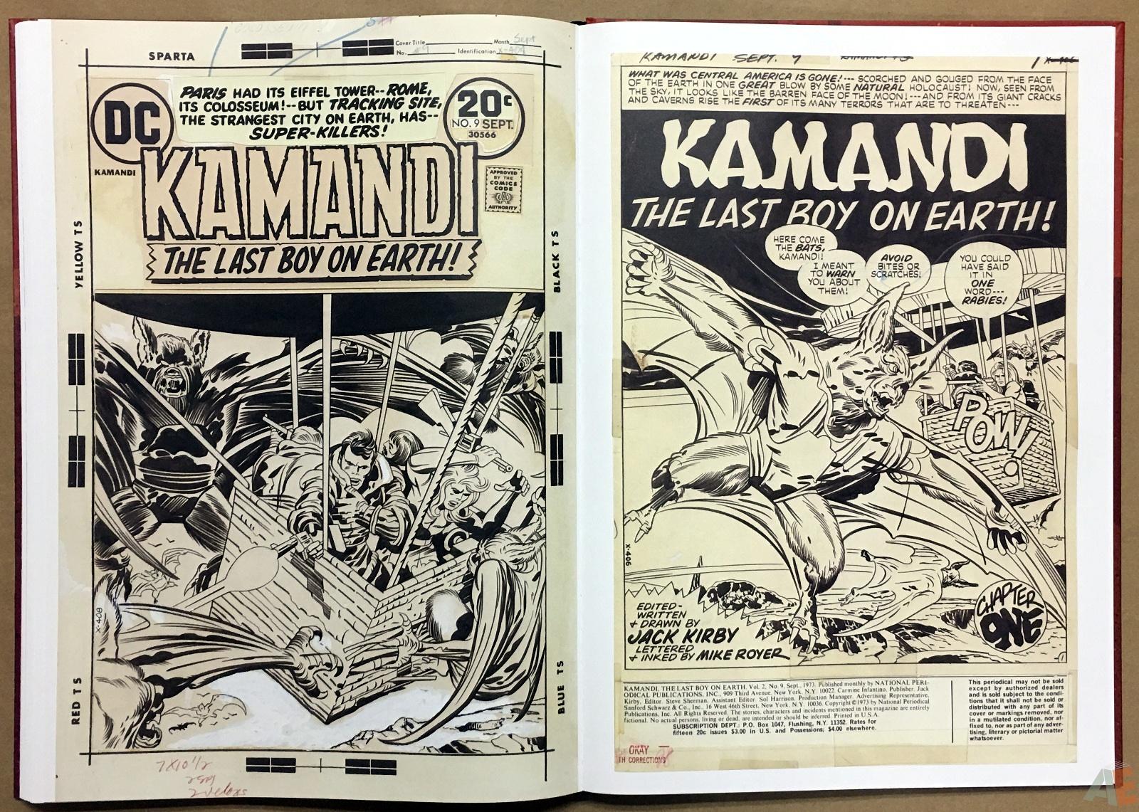 Jack Kirby Kamandi The Last Boy On Earth Artist's Edition 38