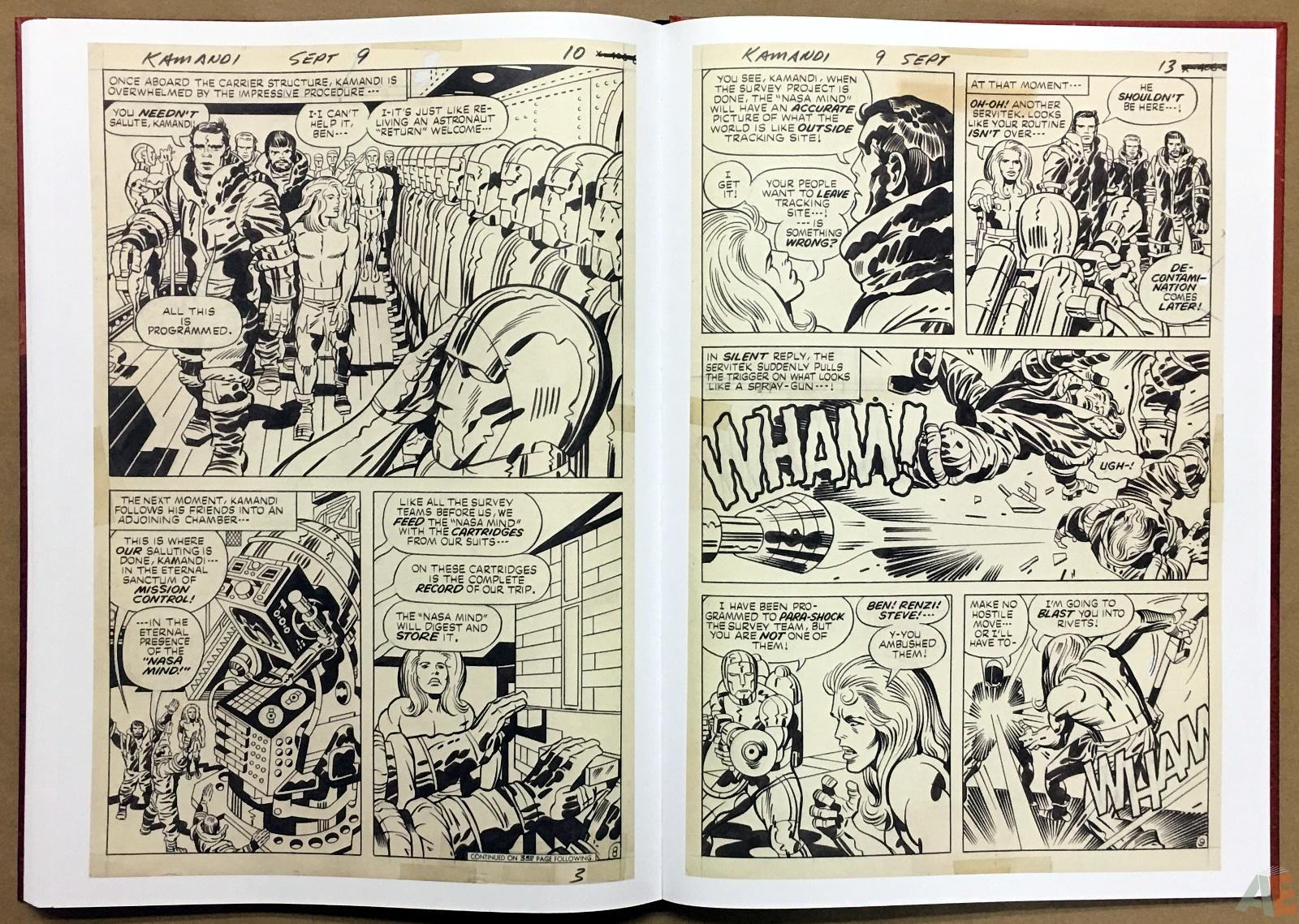 Jack Kirby Kamandi The Last Boy On Earth Artist's Edition 42