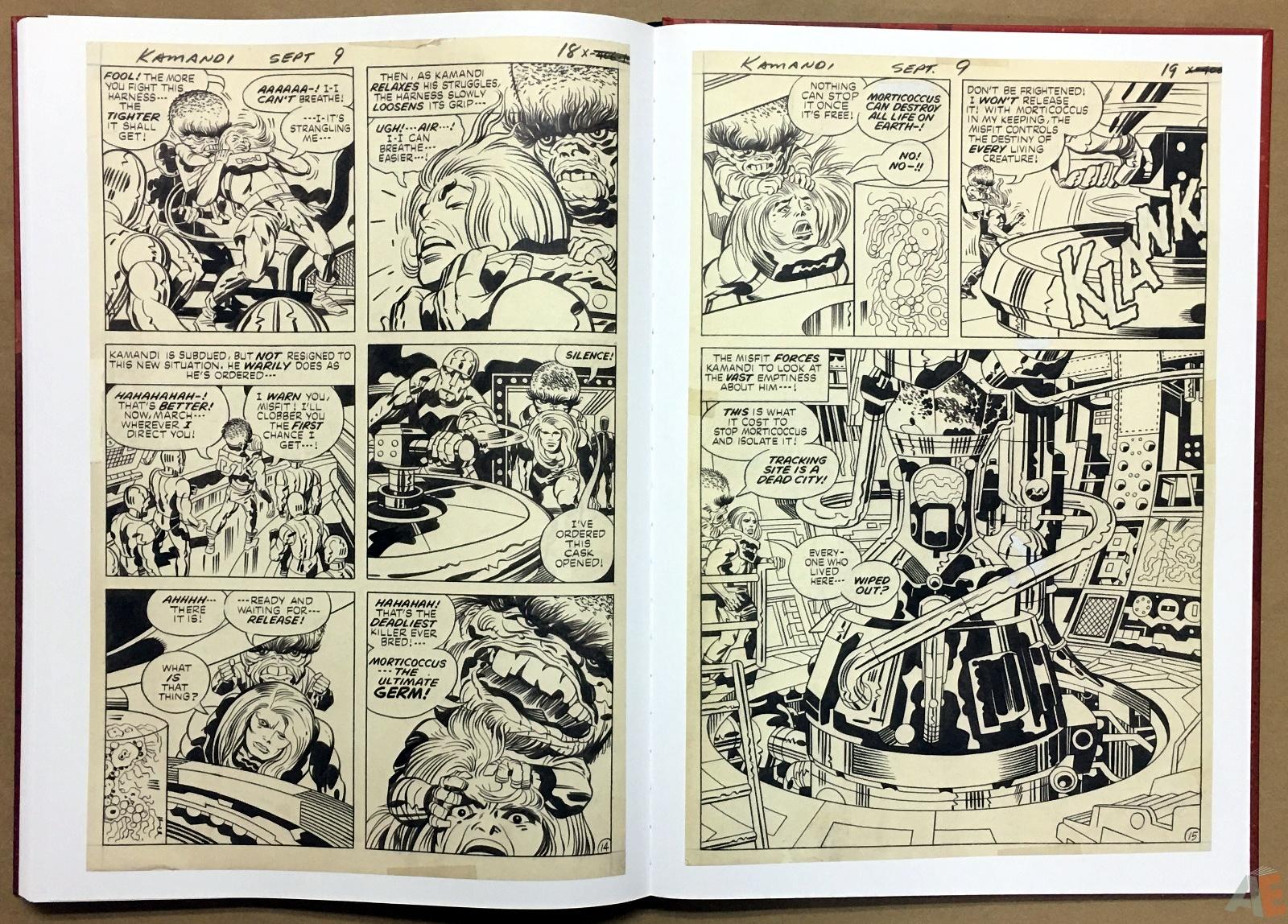 Jack Kirby Kamandi The Last Boy On Earth Artist's Edition 44
