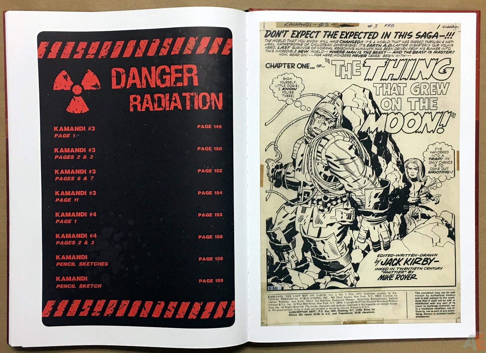 Jack Kirby Kamandi The Last Boy On Earth Artist's Edition 46