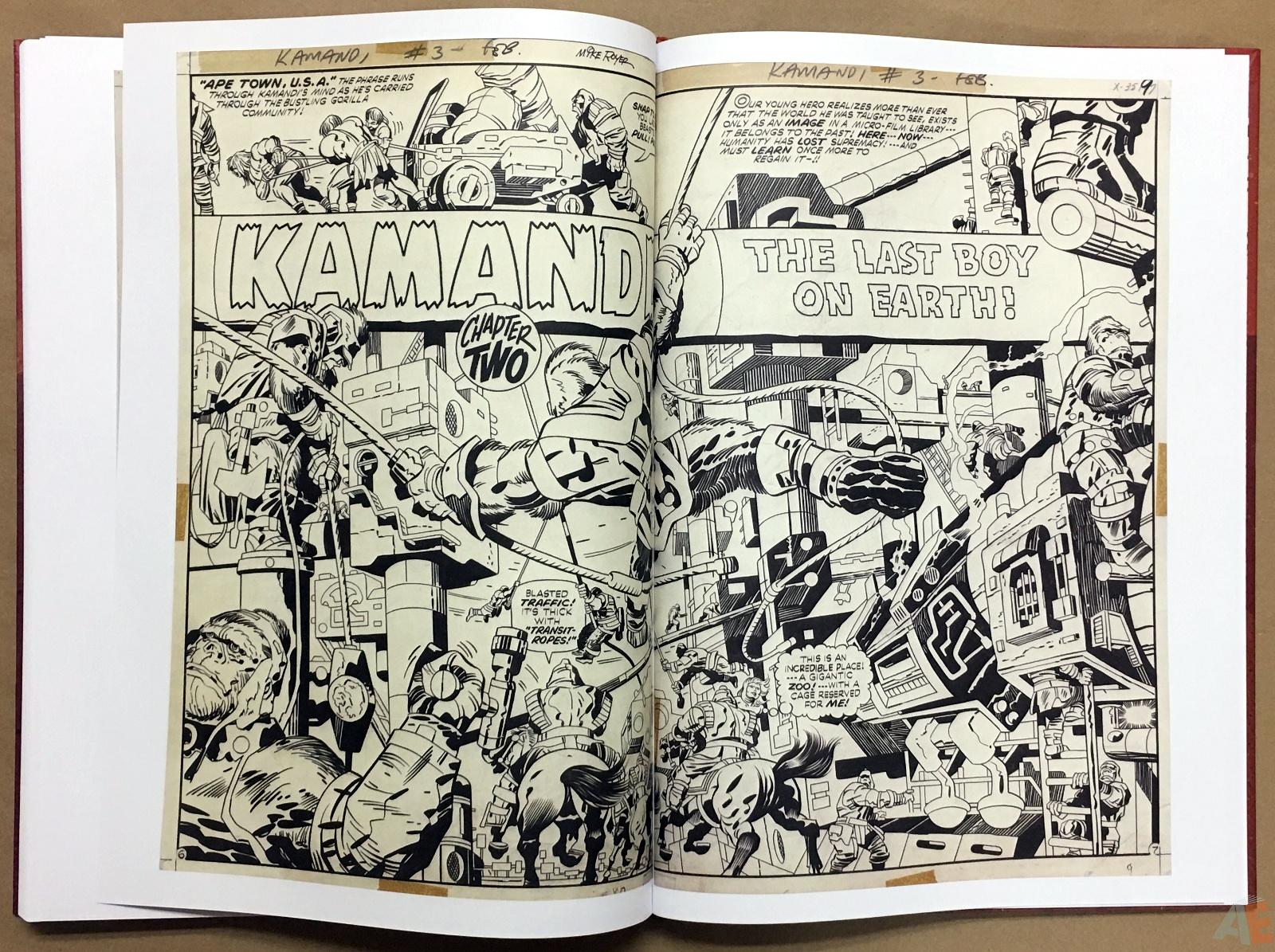 Jack Kirby Kamandi The Last Boy On Earth Artist's Edition 48