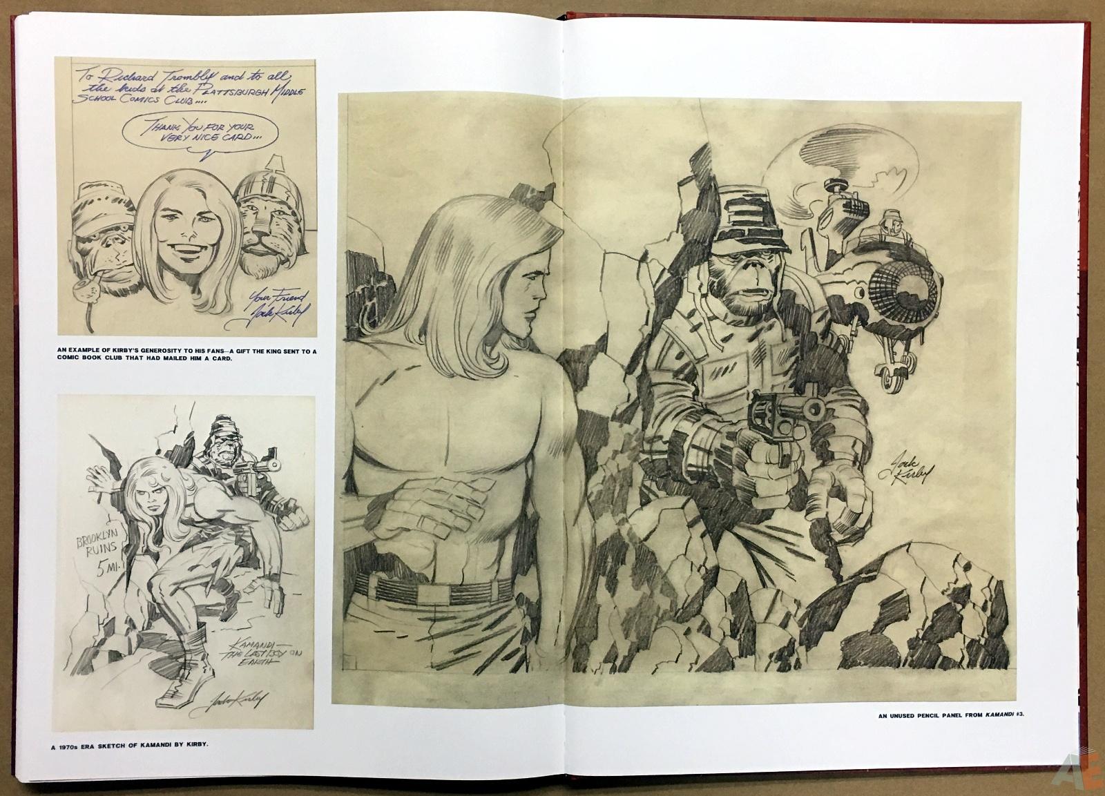 Jack Kirby Kamandi The Last Boy On Earth Artist's Edition 52