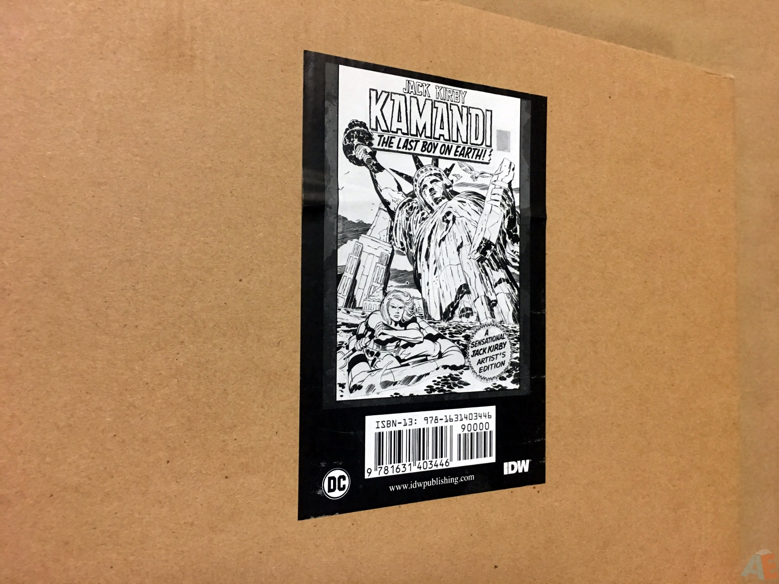 Jack Kirby Kamandi The Last Boy On Earth Artist's Edition 56