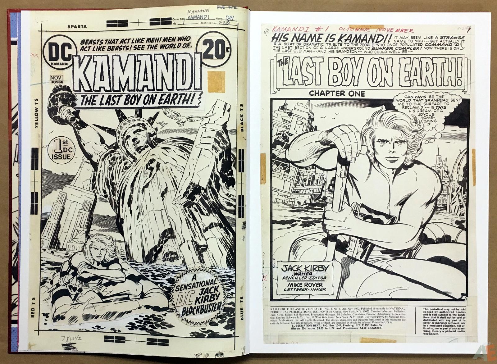 Jack Kirby Kamandi The Last Boy On Earth Artist's Edition 8