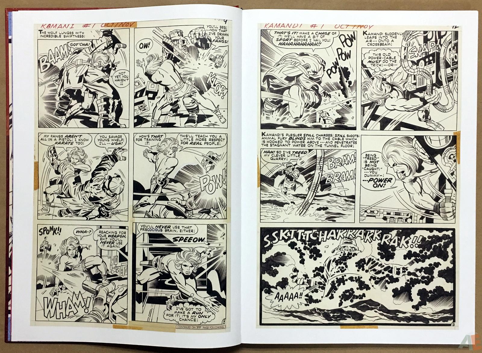 Jack Kirby Kamandi The Last Boy On Earth Artist's Edition 10