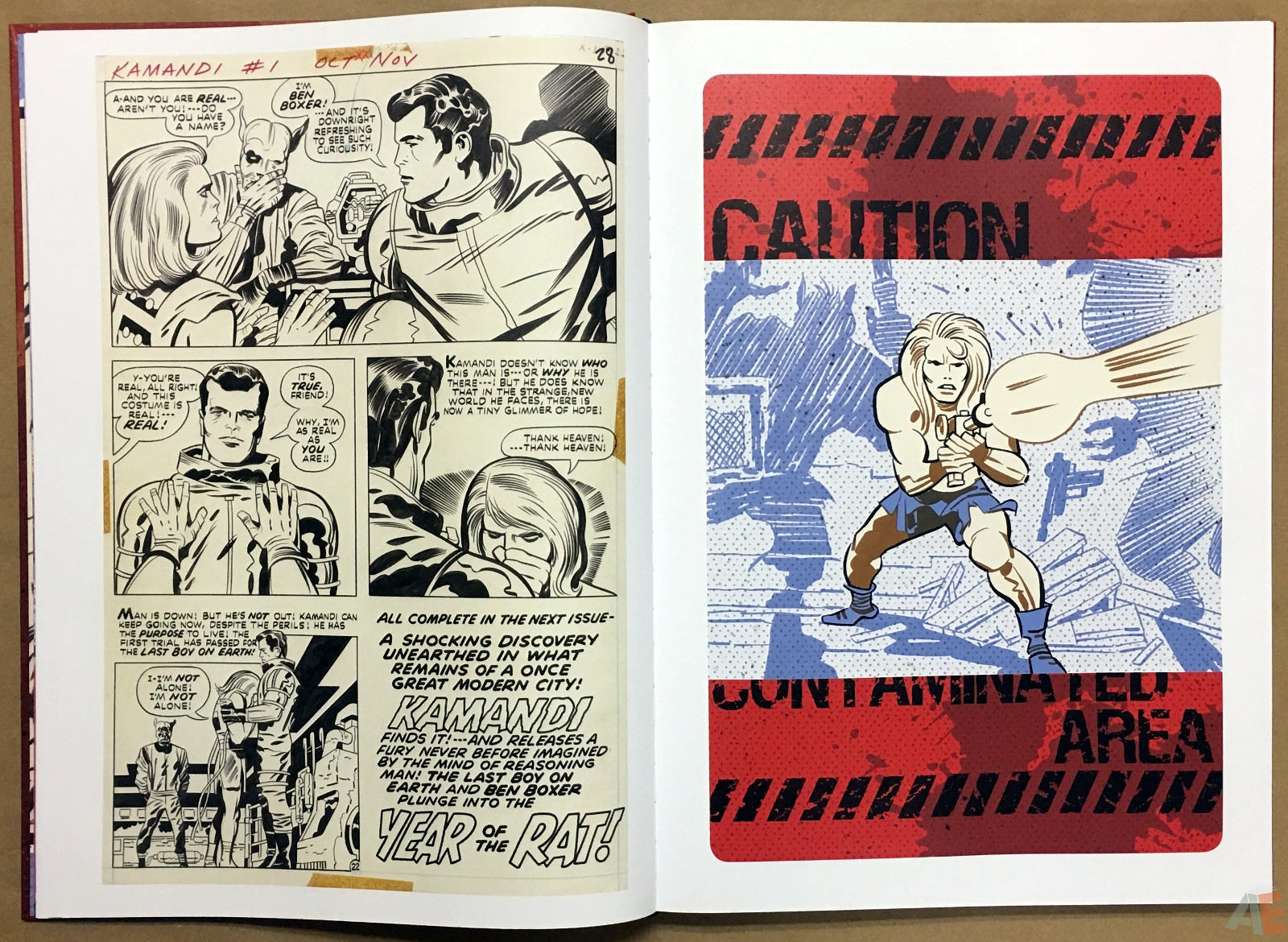 Jack Kirby Kamandi The Last Boy On Earth Artist's Edition 12
