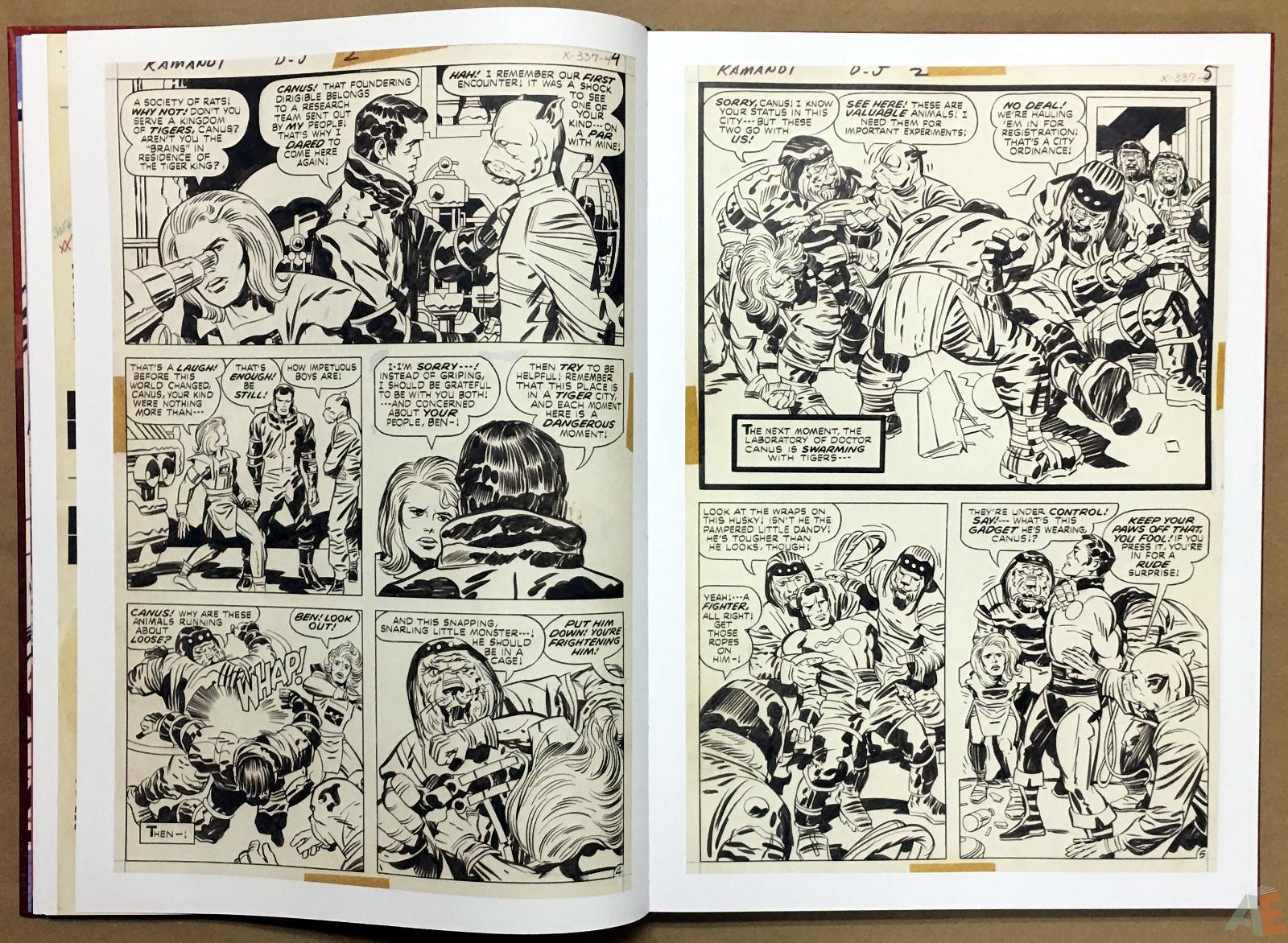 Jack Kirby Kamandi The Last Boy On Earth Artist's Edition 14