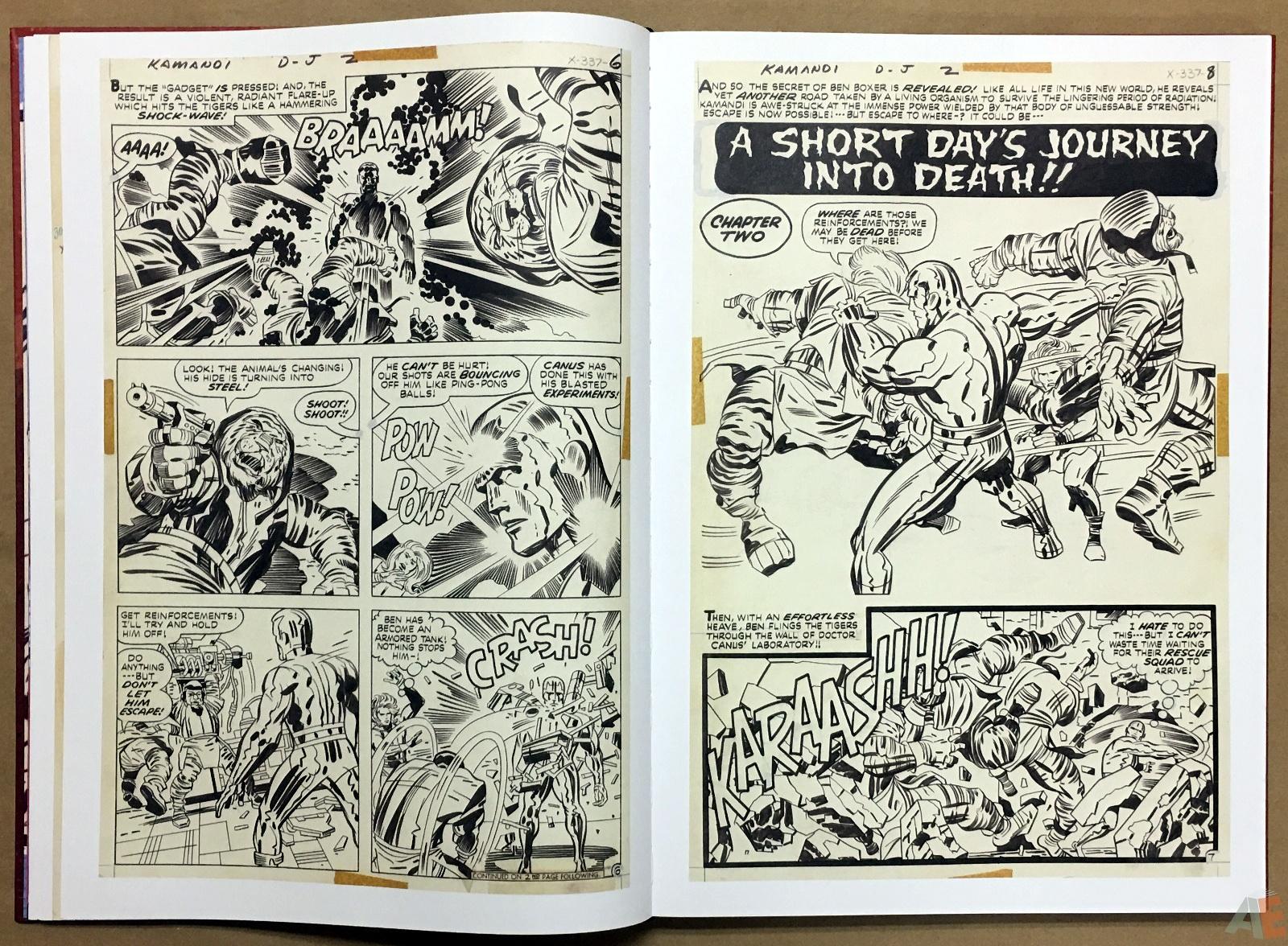 Jack Kirby Kamandi The Last Boy On Earth Artist's Edition 16