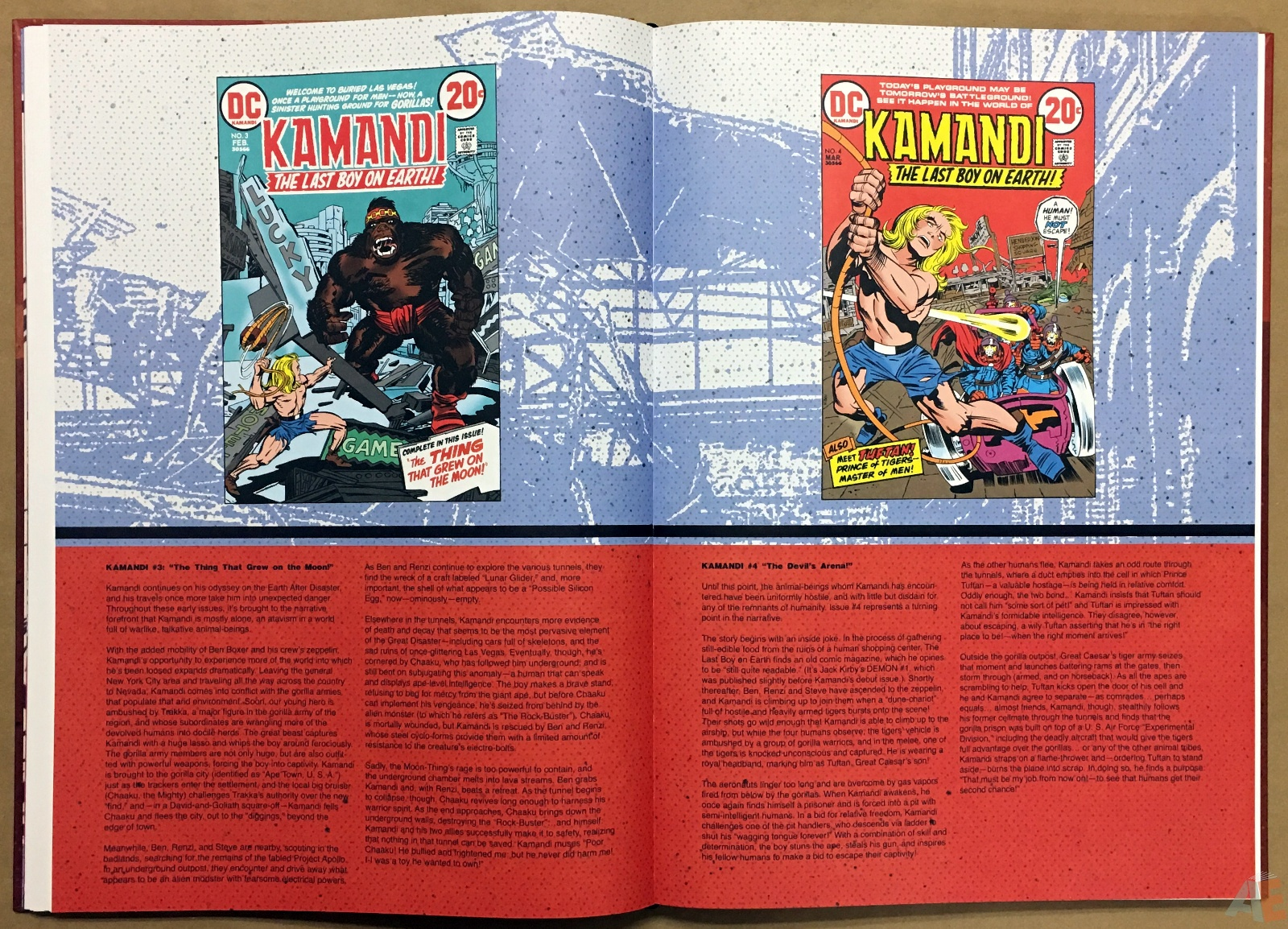 Jack Kirby Kamandi The Last Boy On Earth Artist's Edition 18