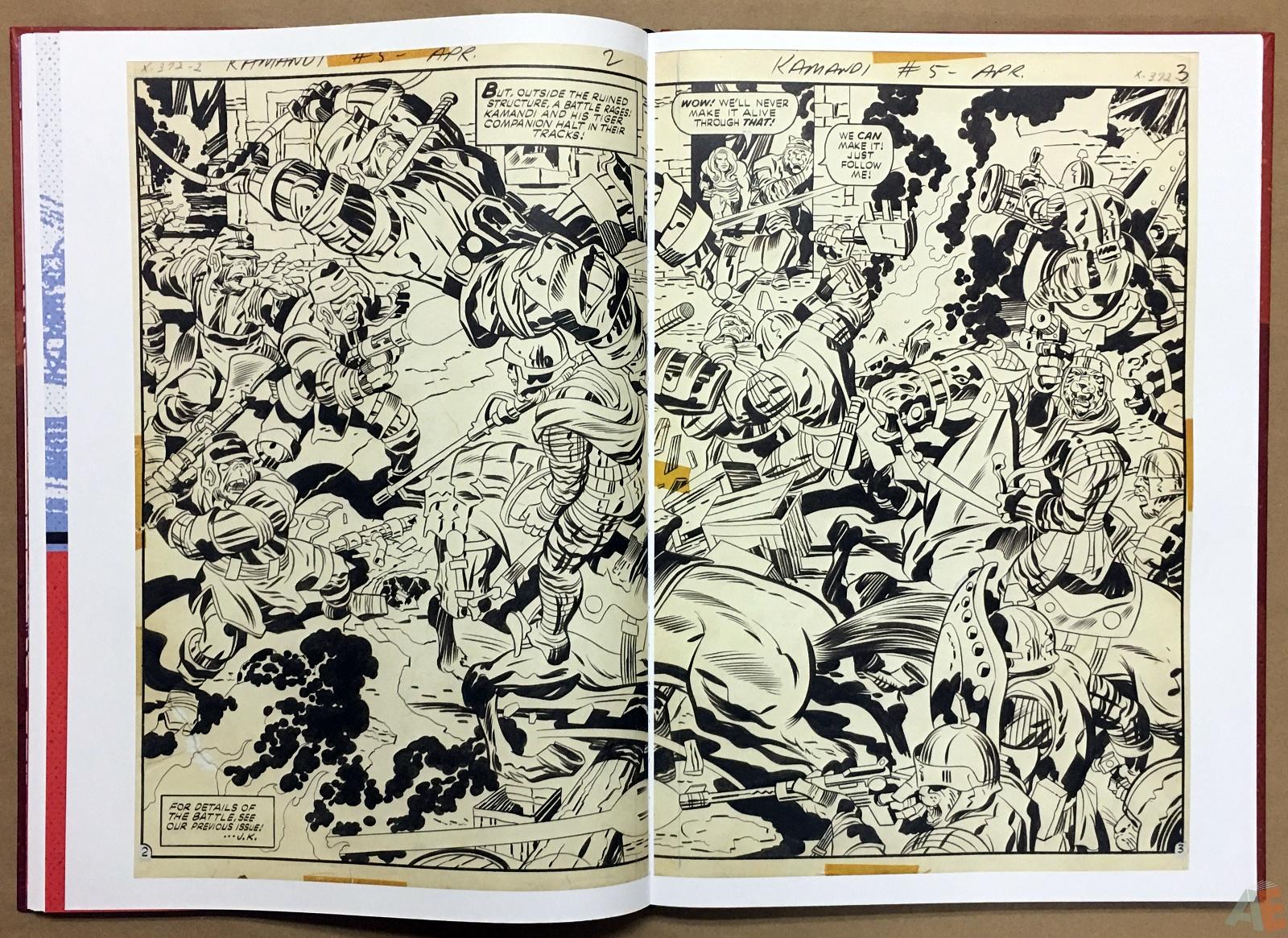Jack Kirby Kamandi The Last Boy On Earth Artist's Edition 20
