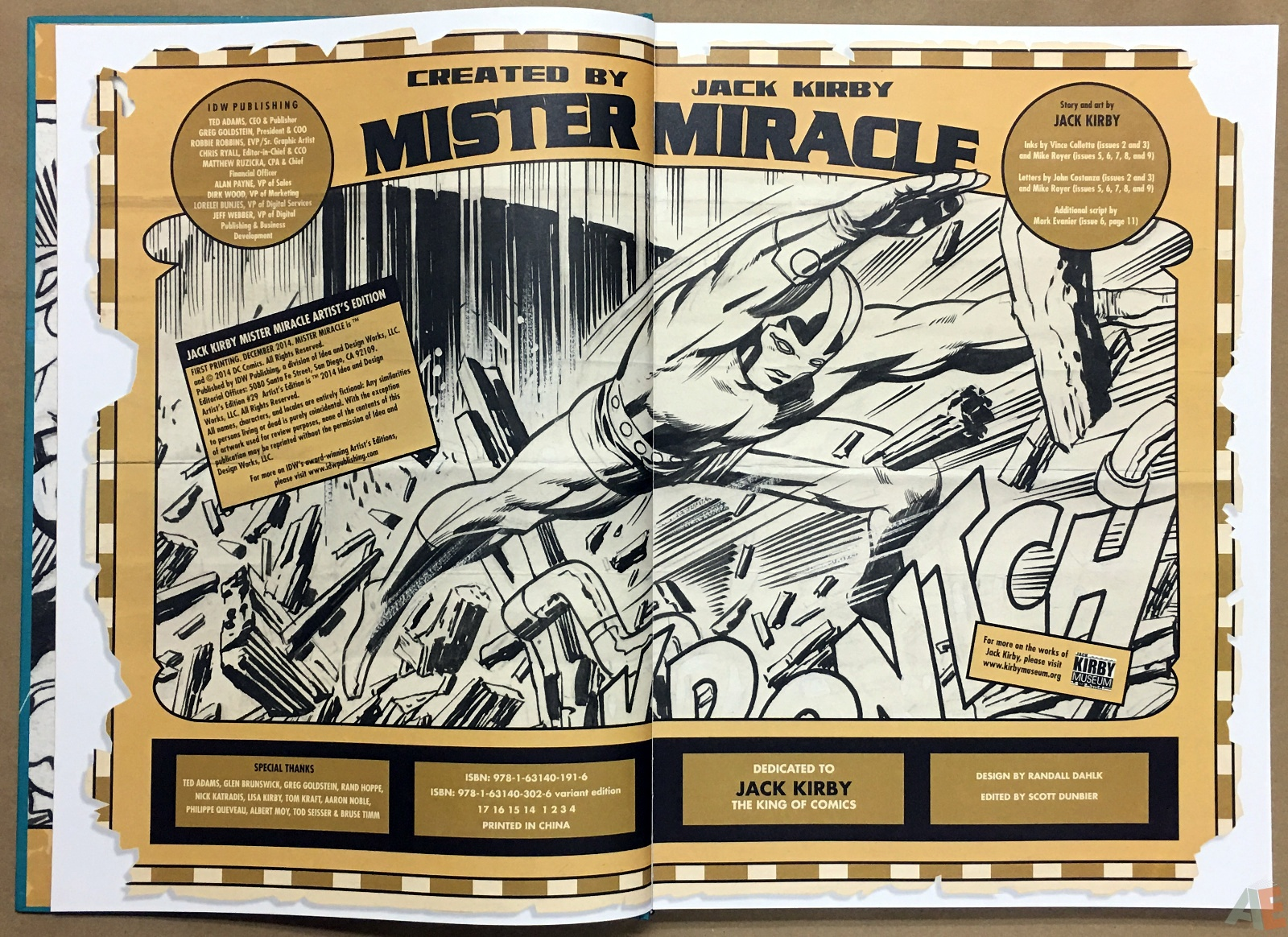 Jack Kirby Mister Miracle Artist's Edition