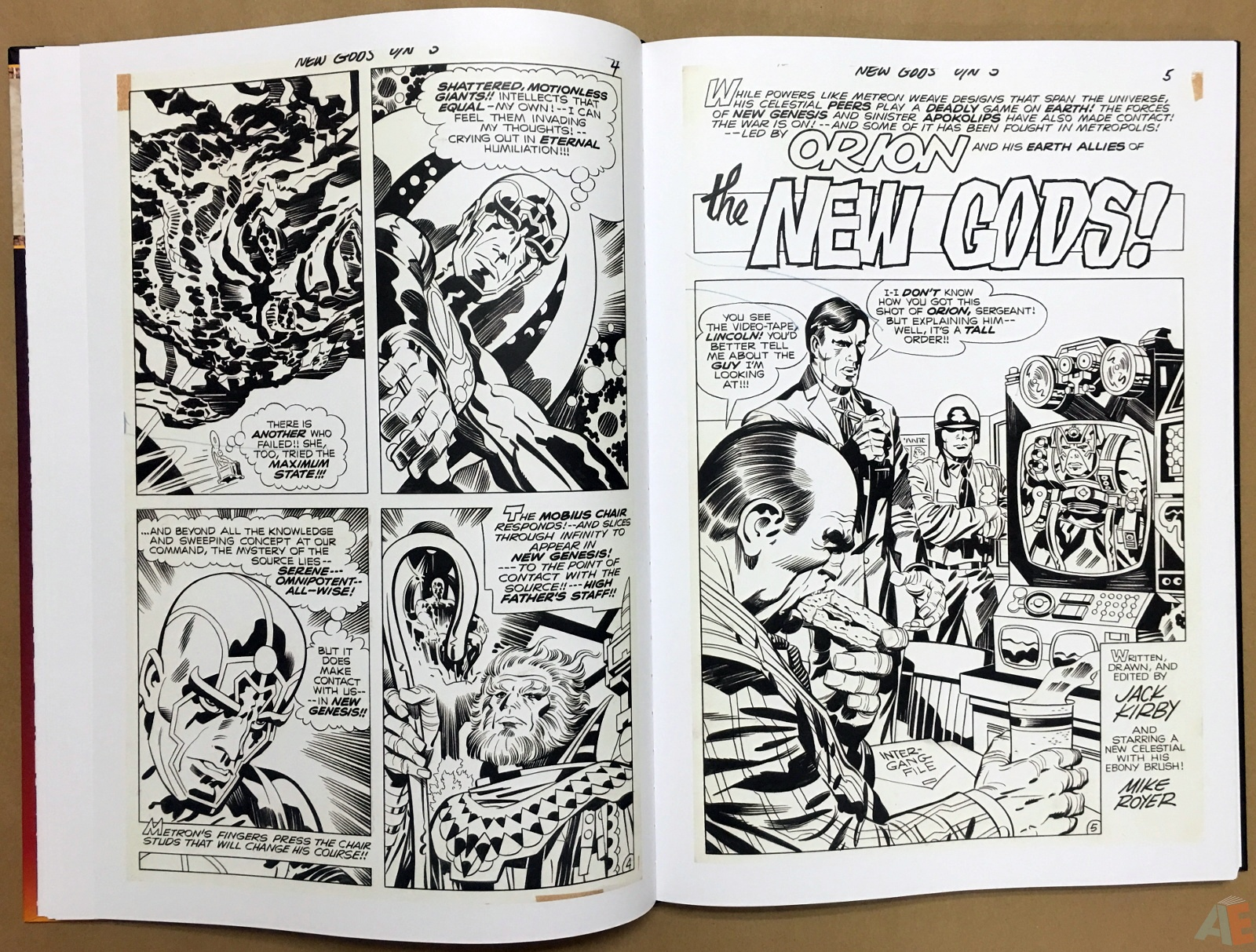 Jack Kirby New Gods Artist's Edition 22