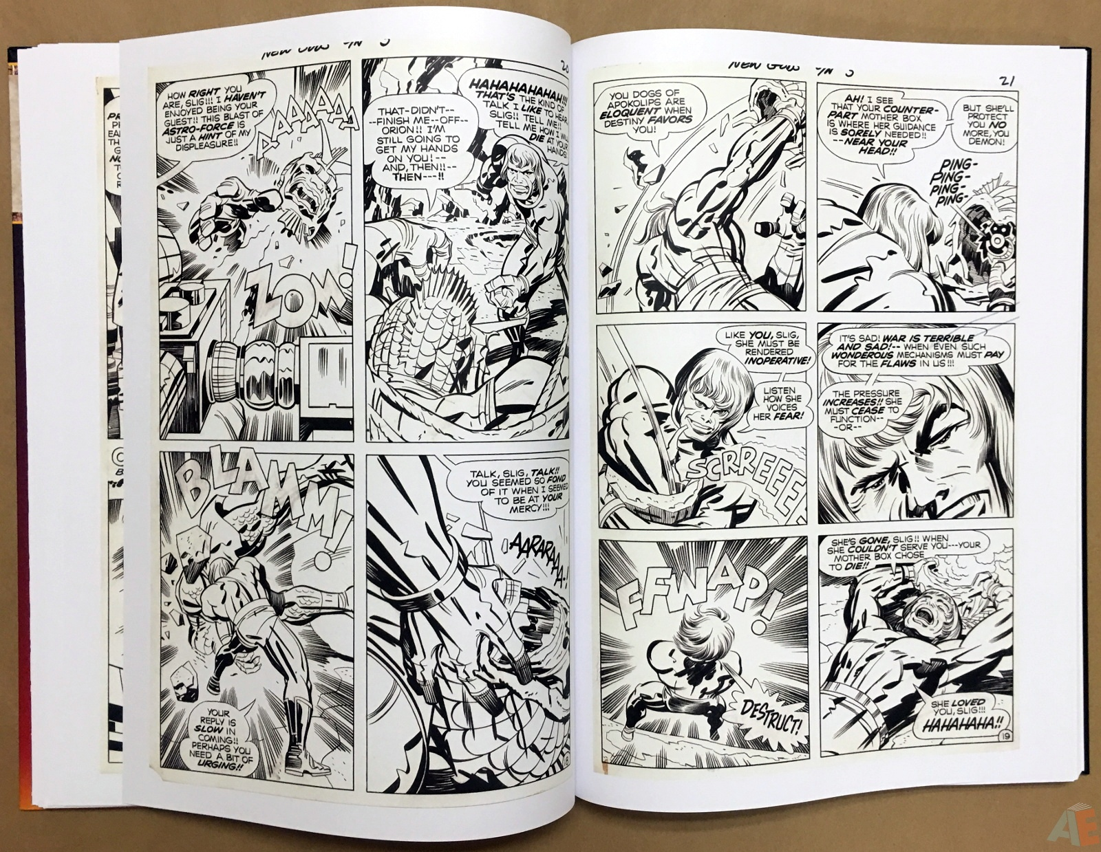 Jack Kirby New Gods Artist's Edition 24