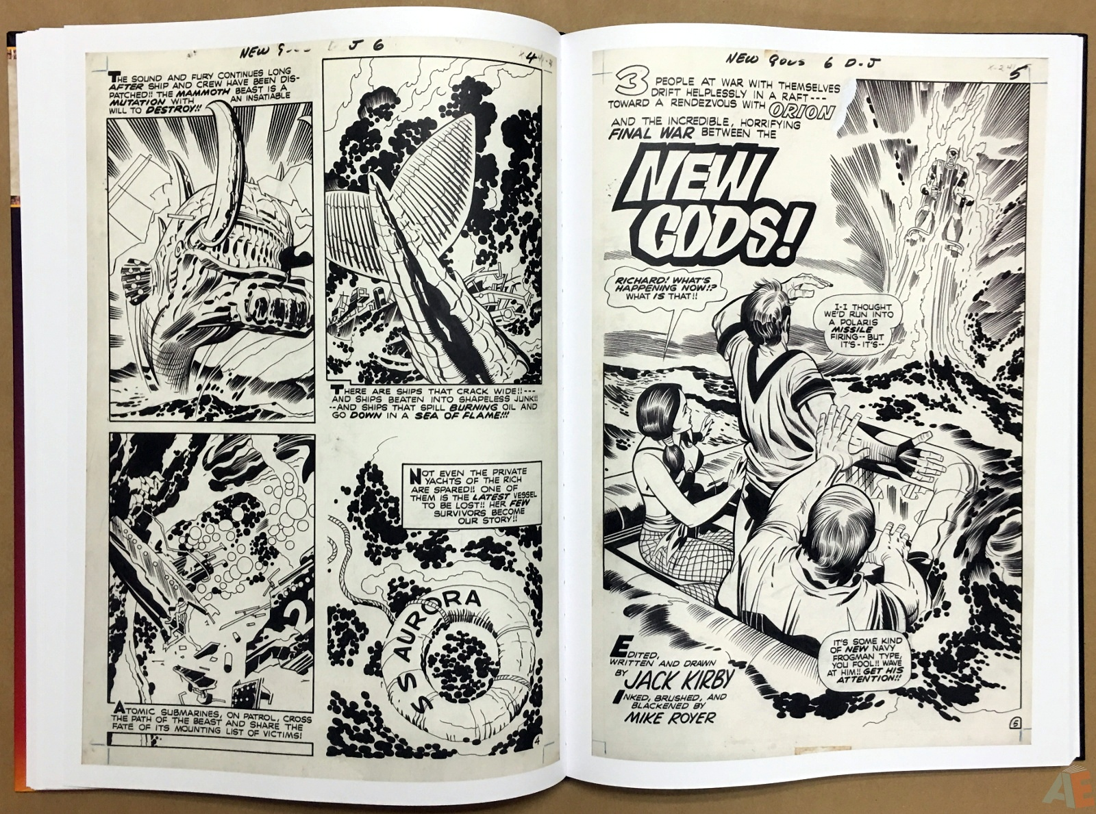 Jack Kirby New Gods Artist's Edition 26