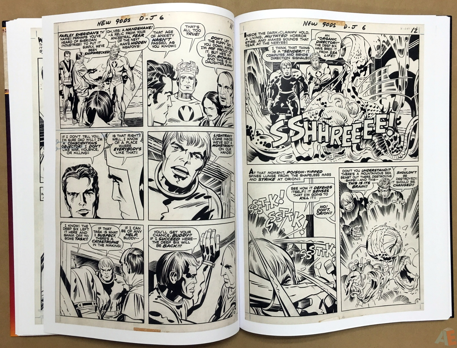 Jack Kirby New Gods Artist's Edition 28