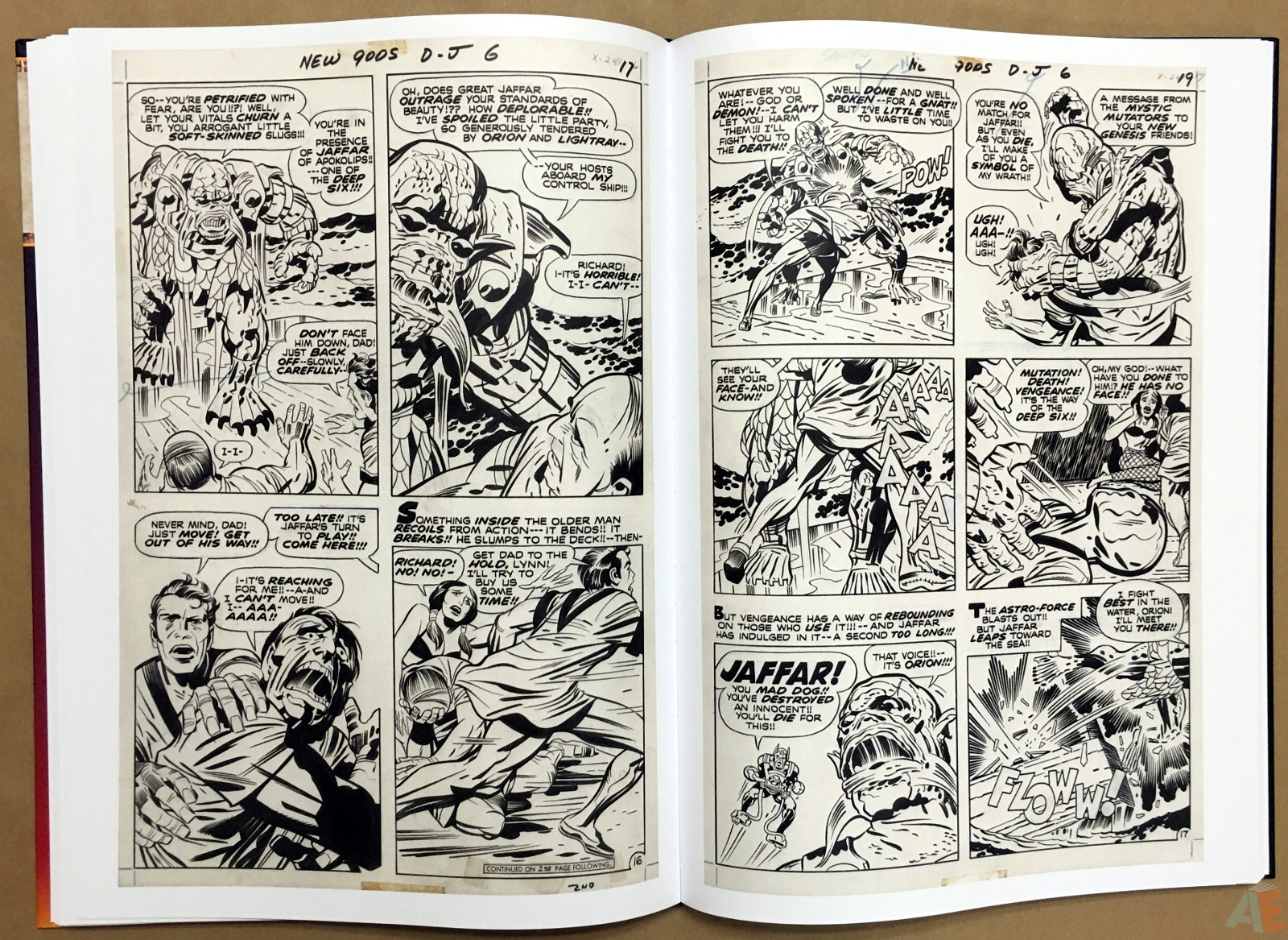 Jack Kirby New Gods Artist's Edition 30