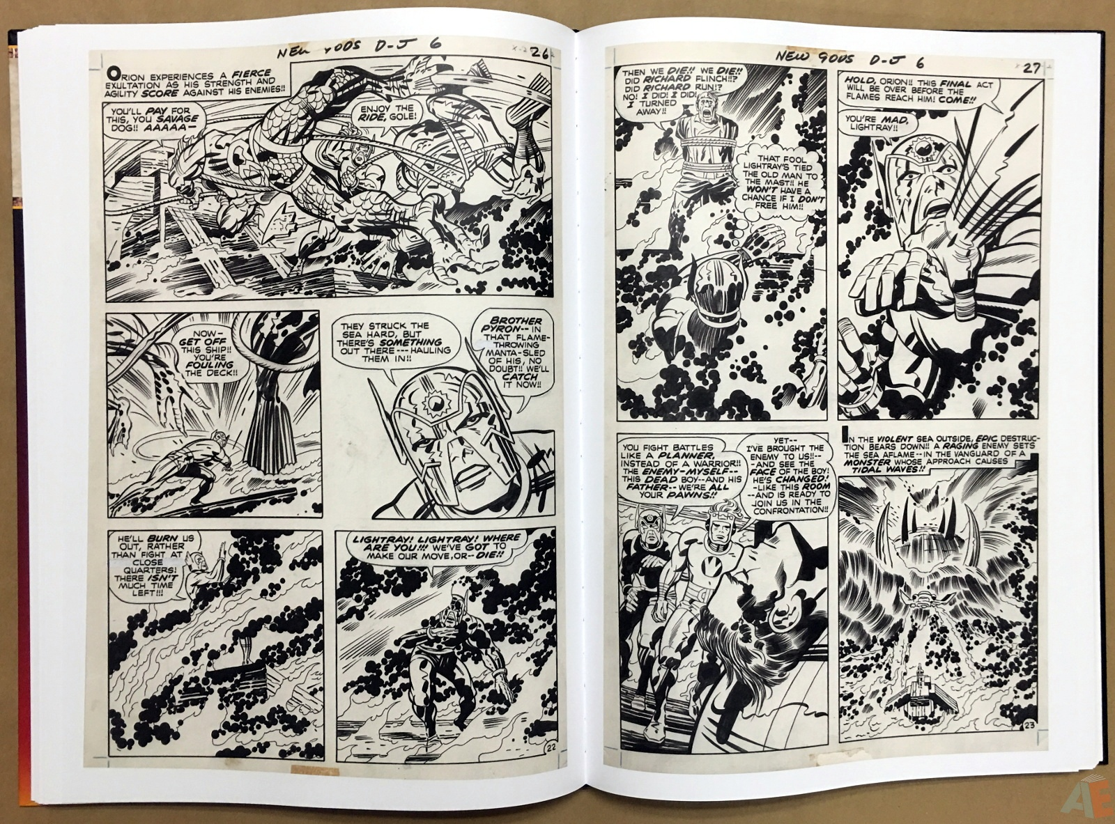 Jack Kirby New Gods Artist's Edition 32