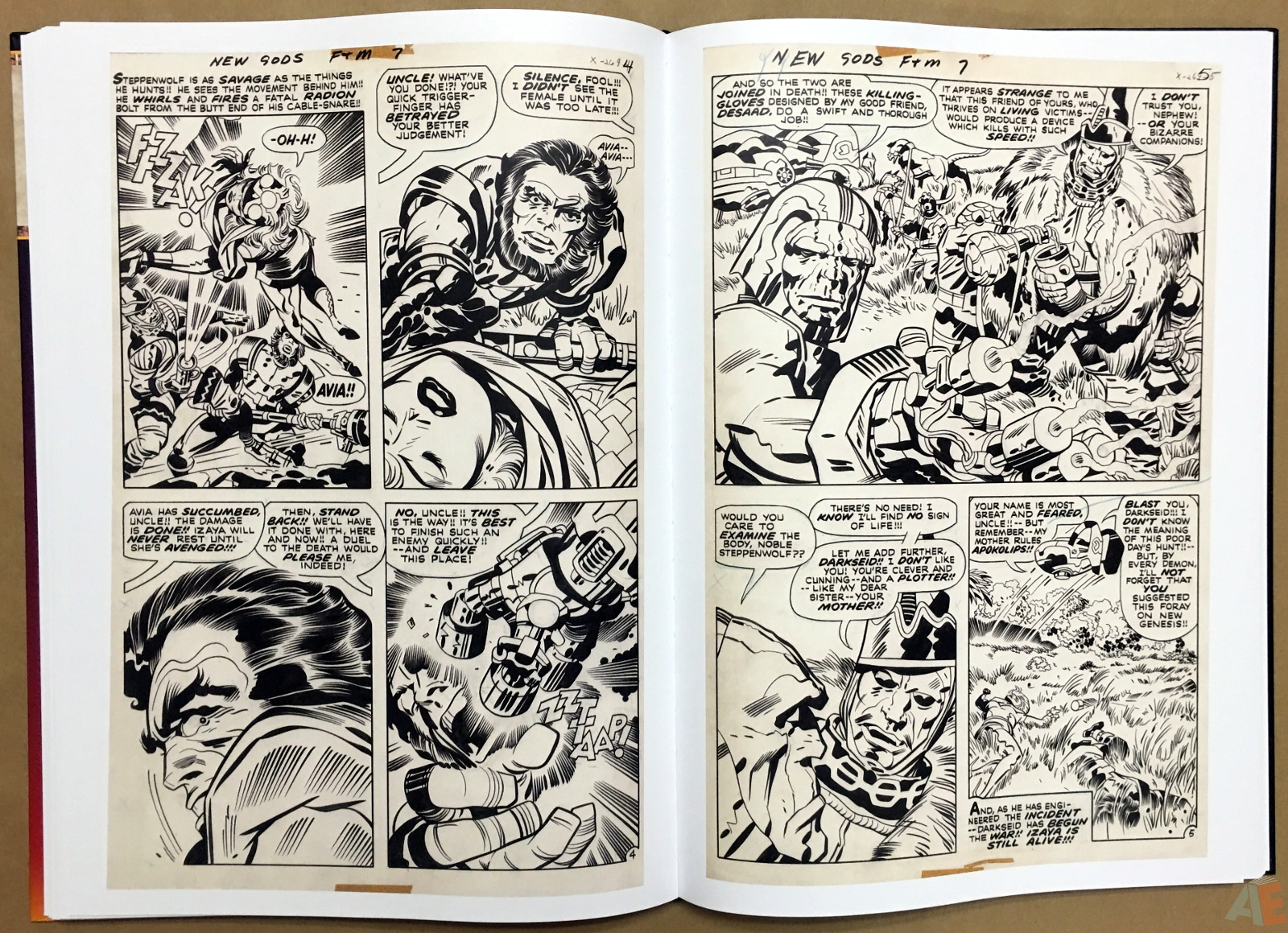 Jack Kirby New Gods Artist's Edition 34
