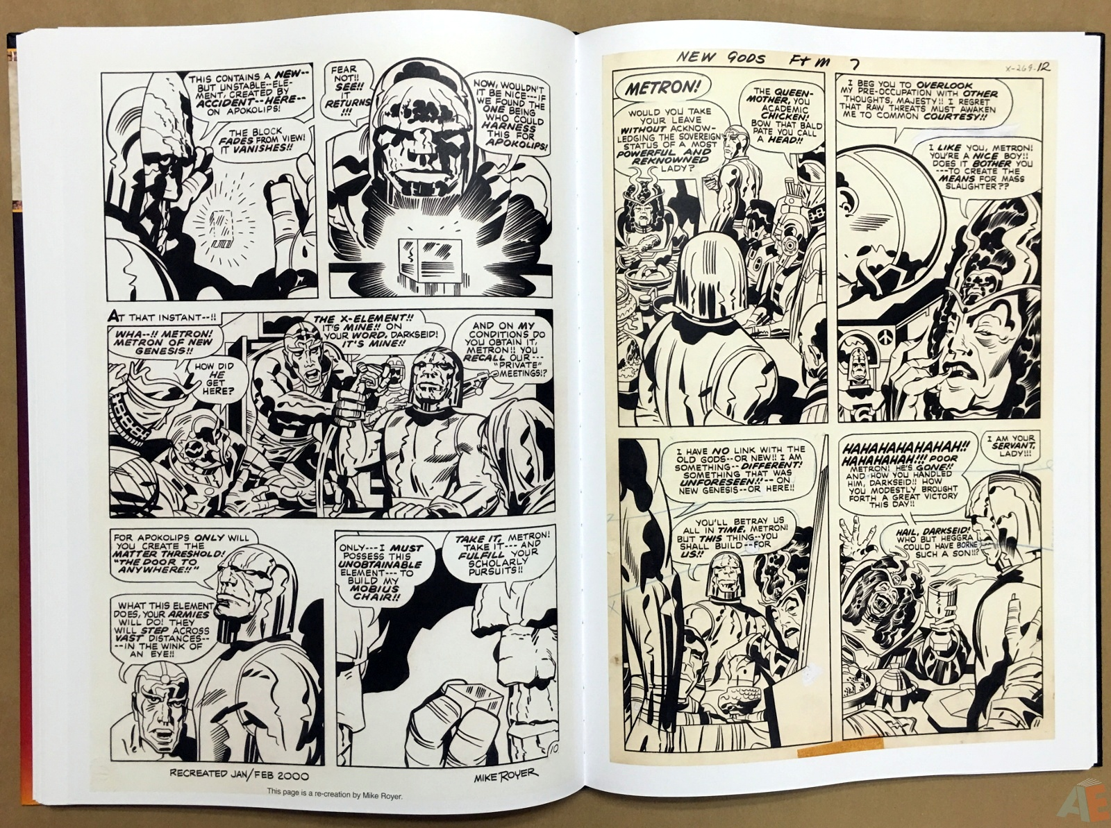 Jack Kirby New Gods Artist's Edition 36