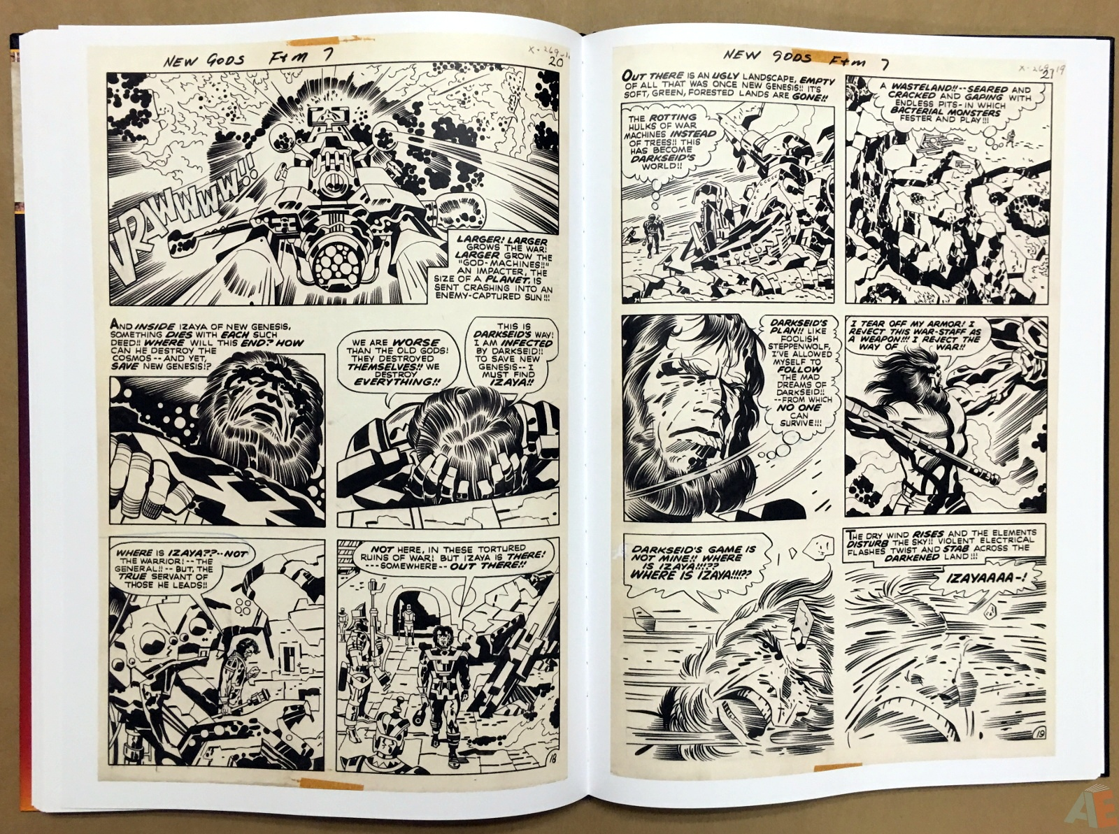 Jack Kirby New Gods Artist's Edition 38