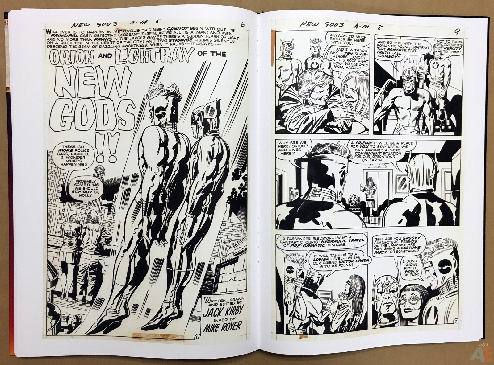 Jack Kirby New Gods Artist's Edition 40