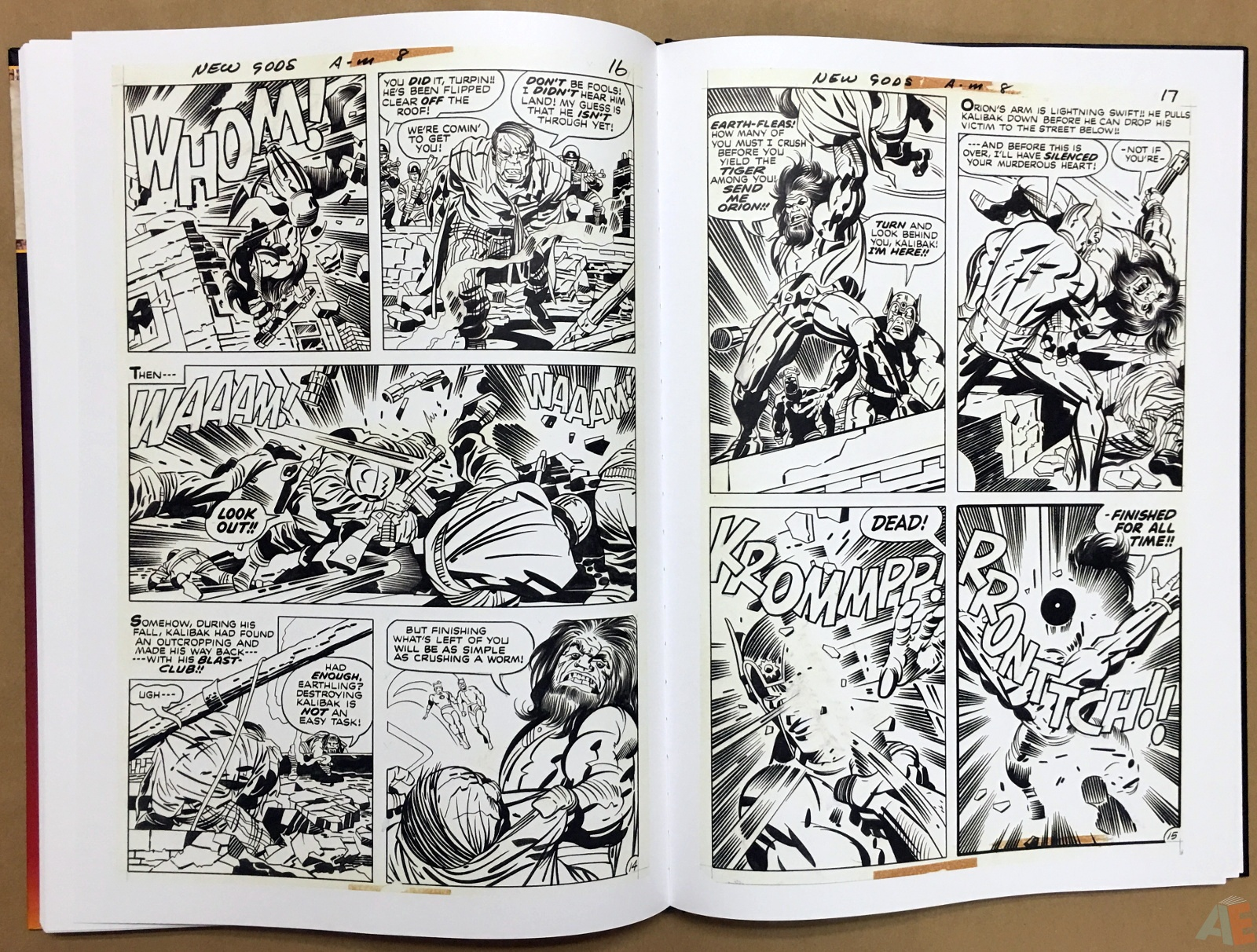 Jack Kirby New Gods Artist's Edition 42