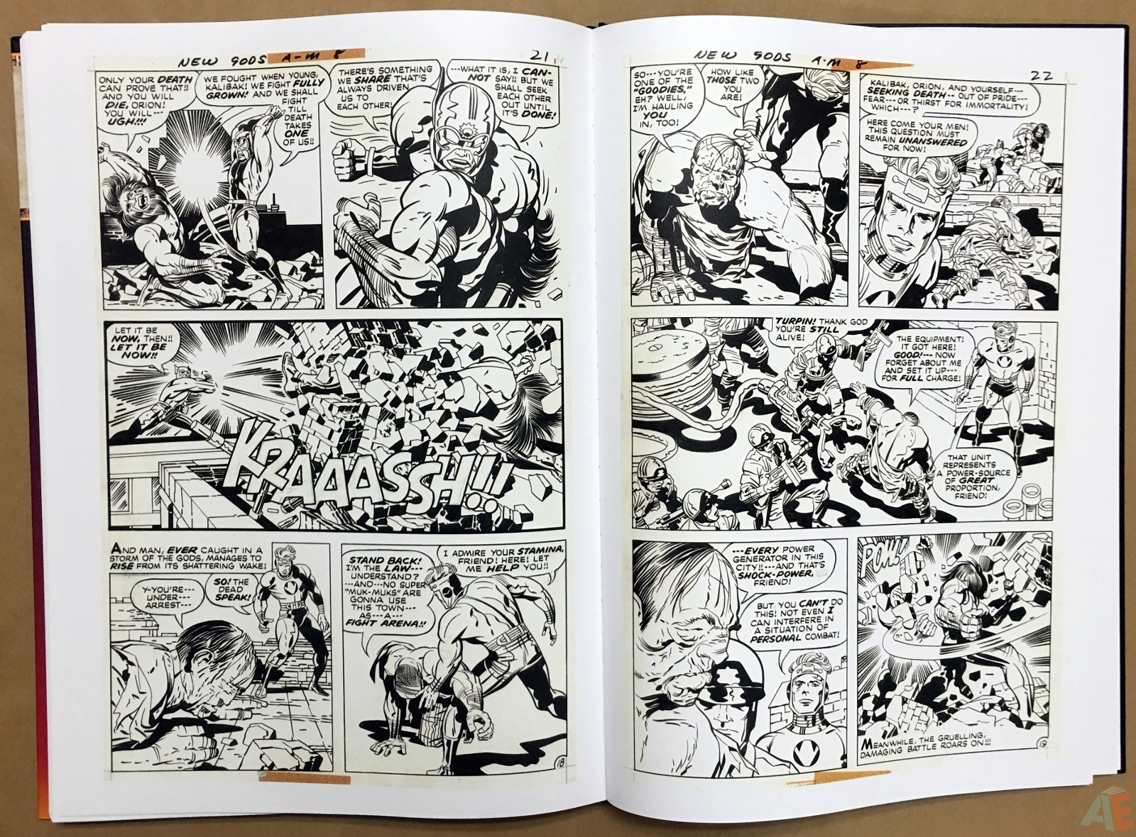 Jack Kirby New Gods Artist's Edition 44