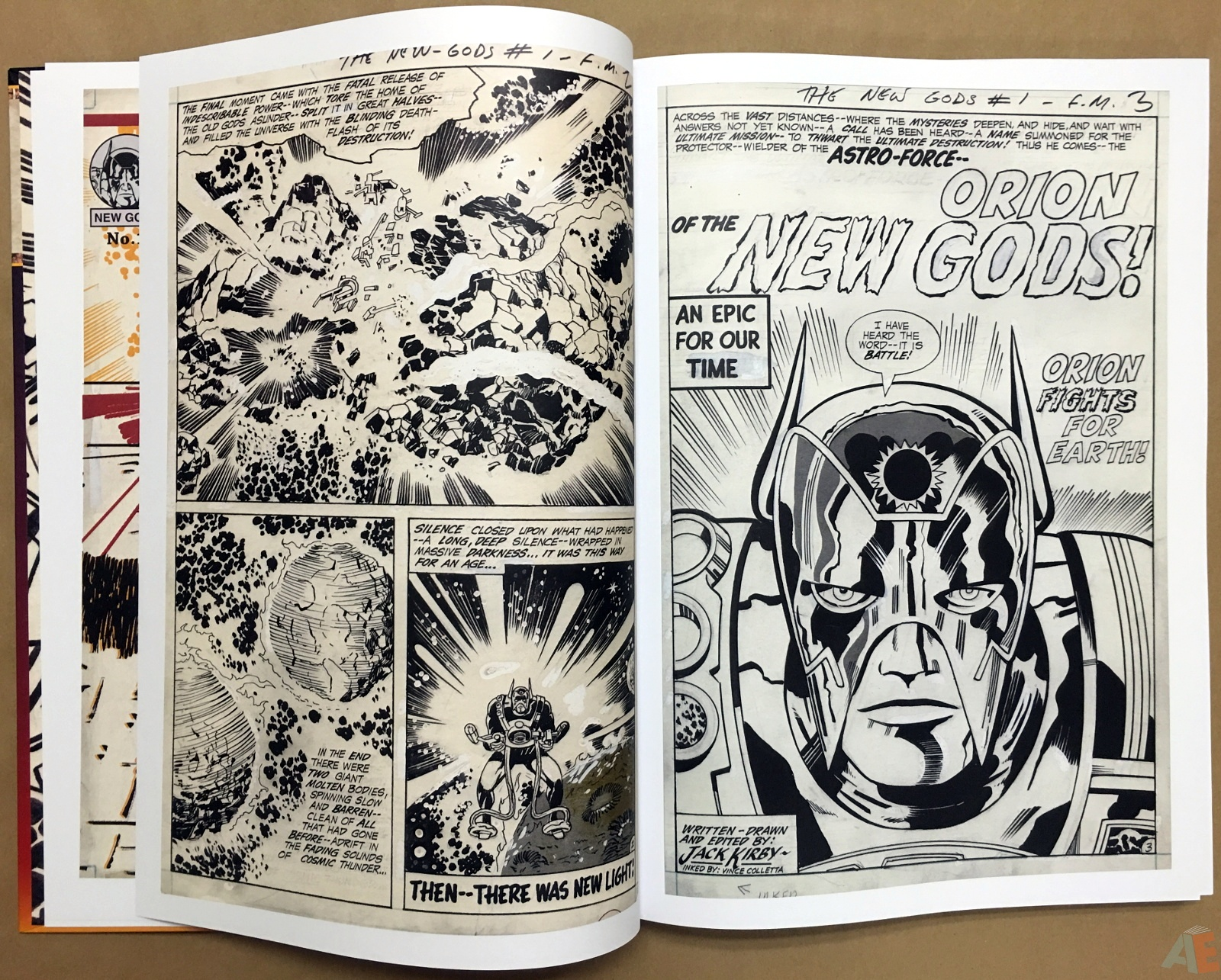 Jack Kirby New Gods Artist's Edition 8