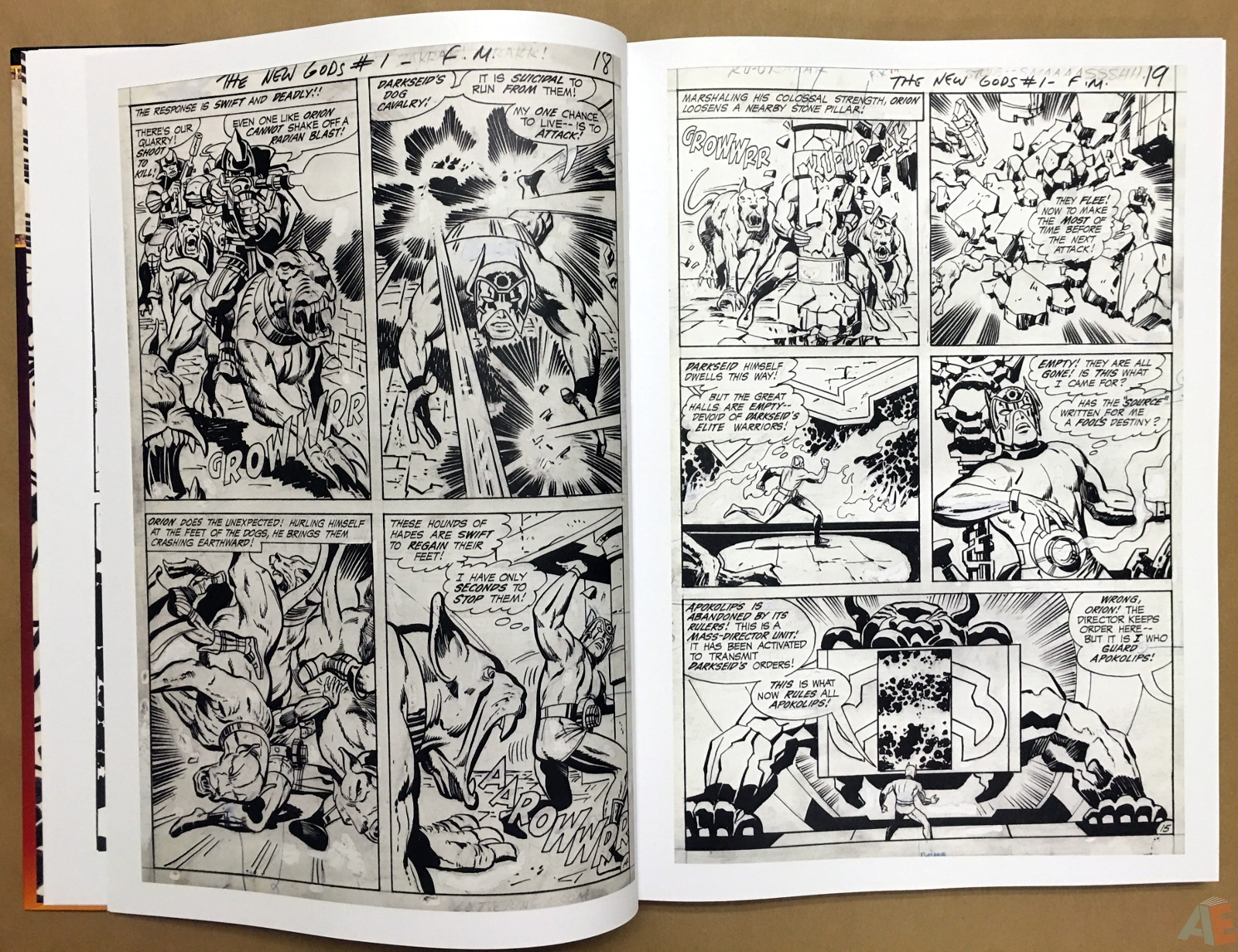 Jack Kirby New Gods Artist's Edition 10