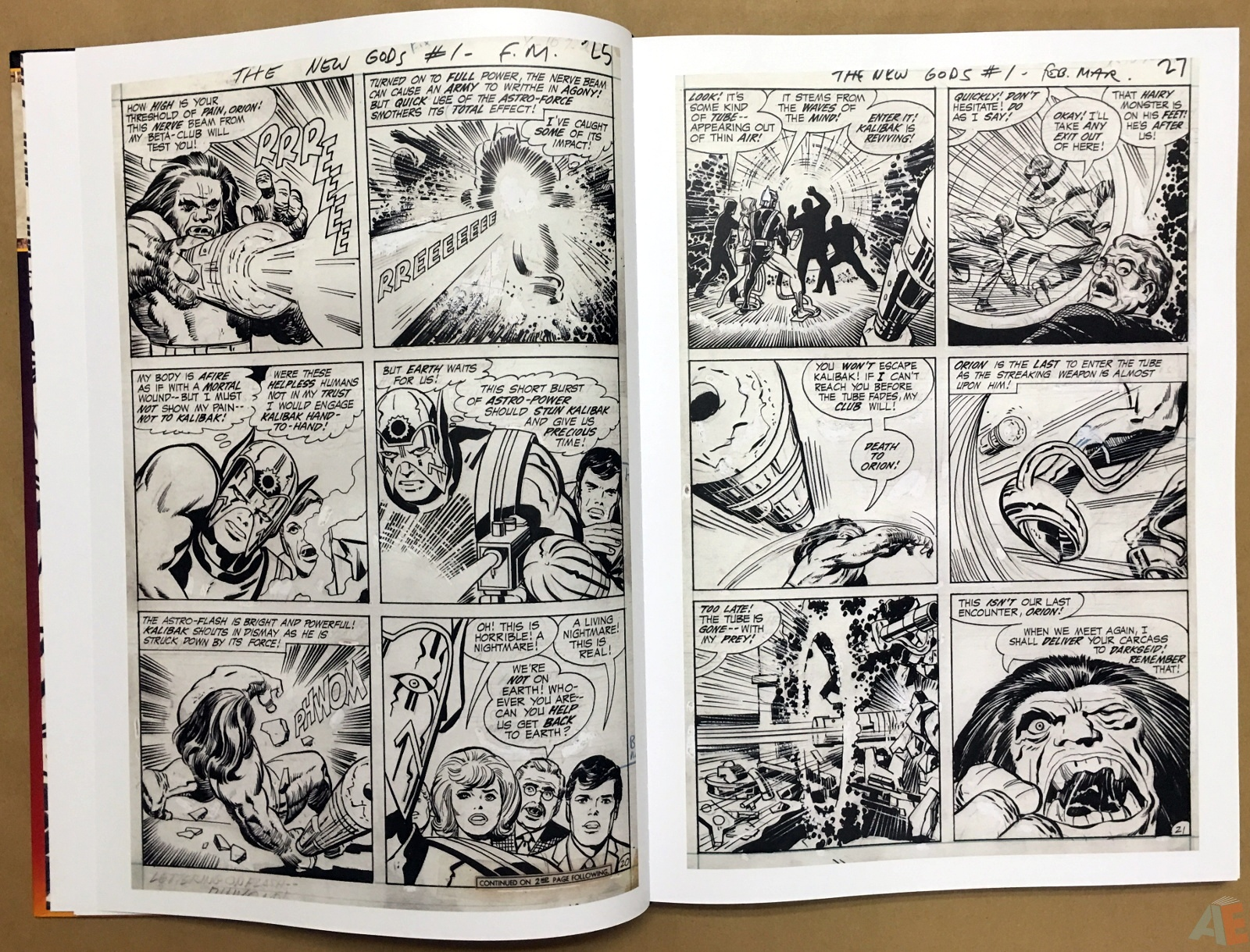 Jack Kirby New Gods Artist's Edition 12
