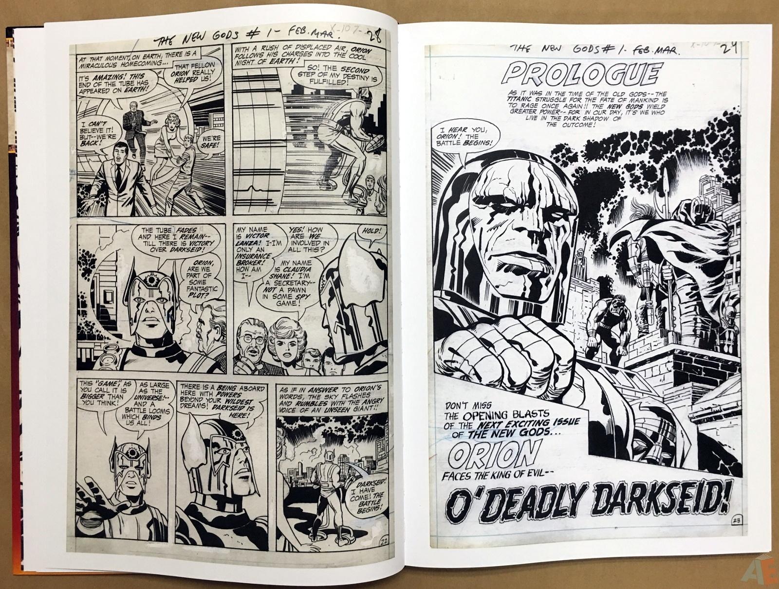 Jack Kirby New Gods Artist's Edition