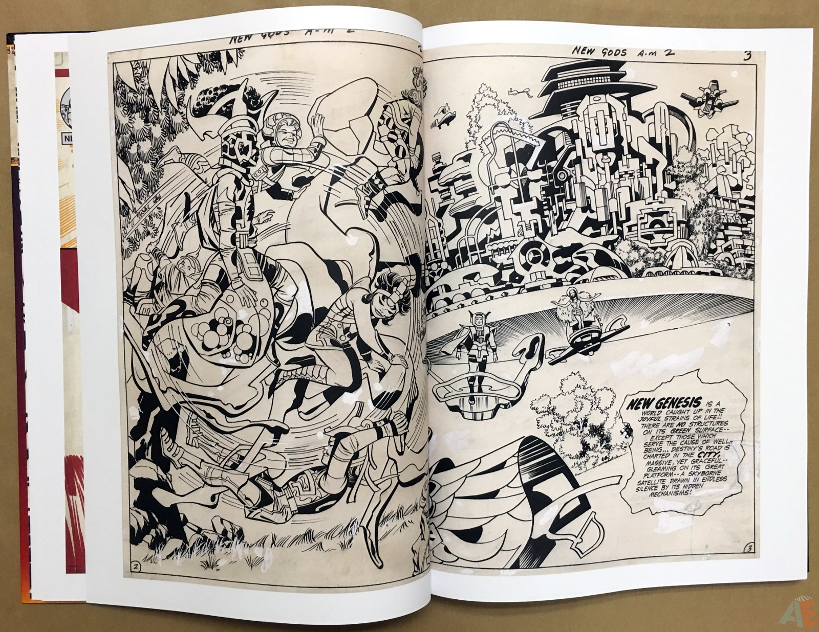 Jack Kirby New Gods Artist's Edition 18