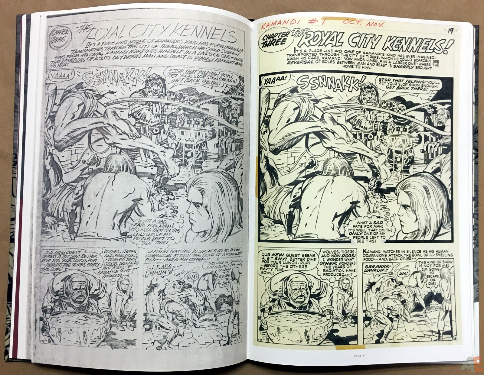 Jack Kirby Pencils And Inks Artisan Edition 22