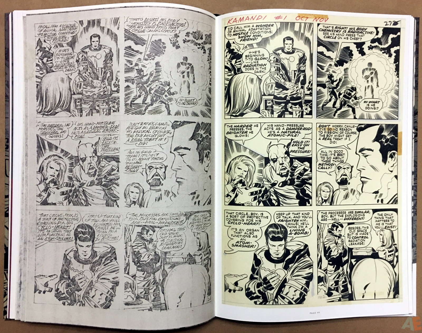 Jack Kirby Pencils And Inks Artisan Edition 24