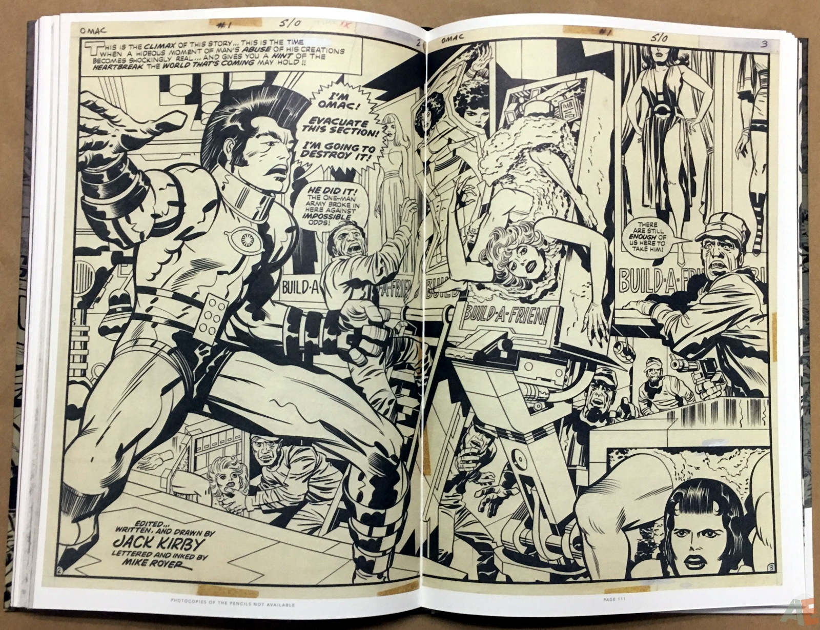 Jack Kirby Pencils And Inks Artisan Edition 26