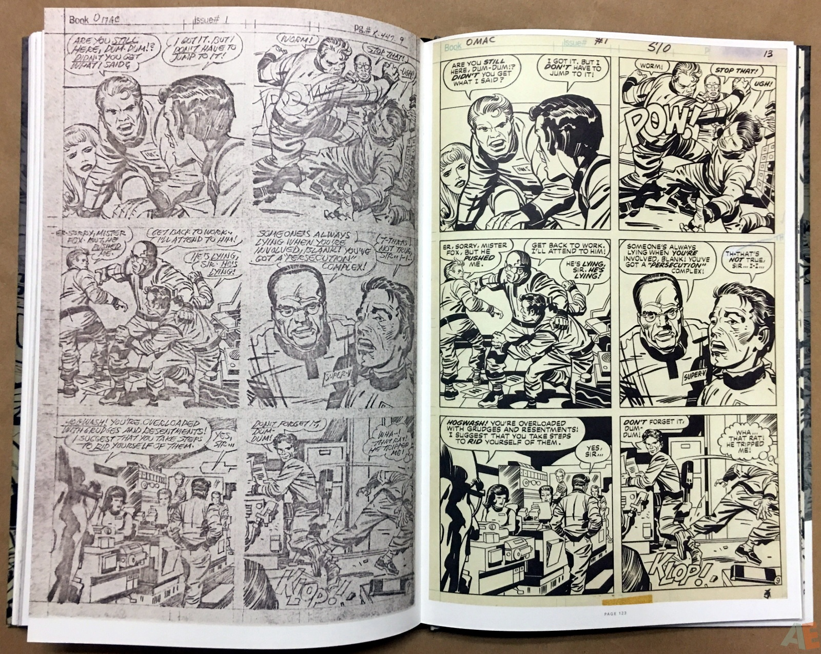 Jack Kirby Pencils And Inks Artisan Edition 28