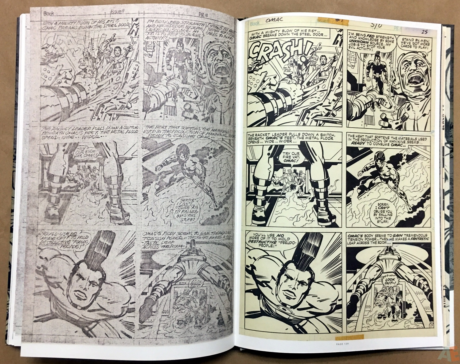 Jack Kirby Pencils And Inks Artisan Edition 30