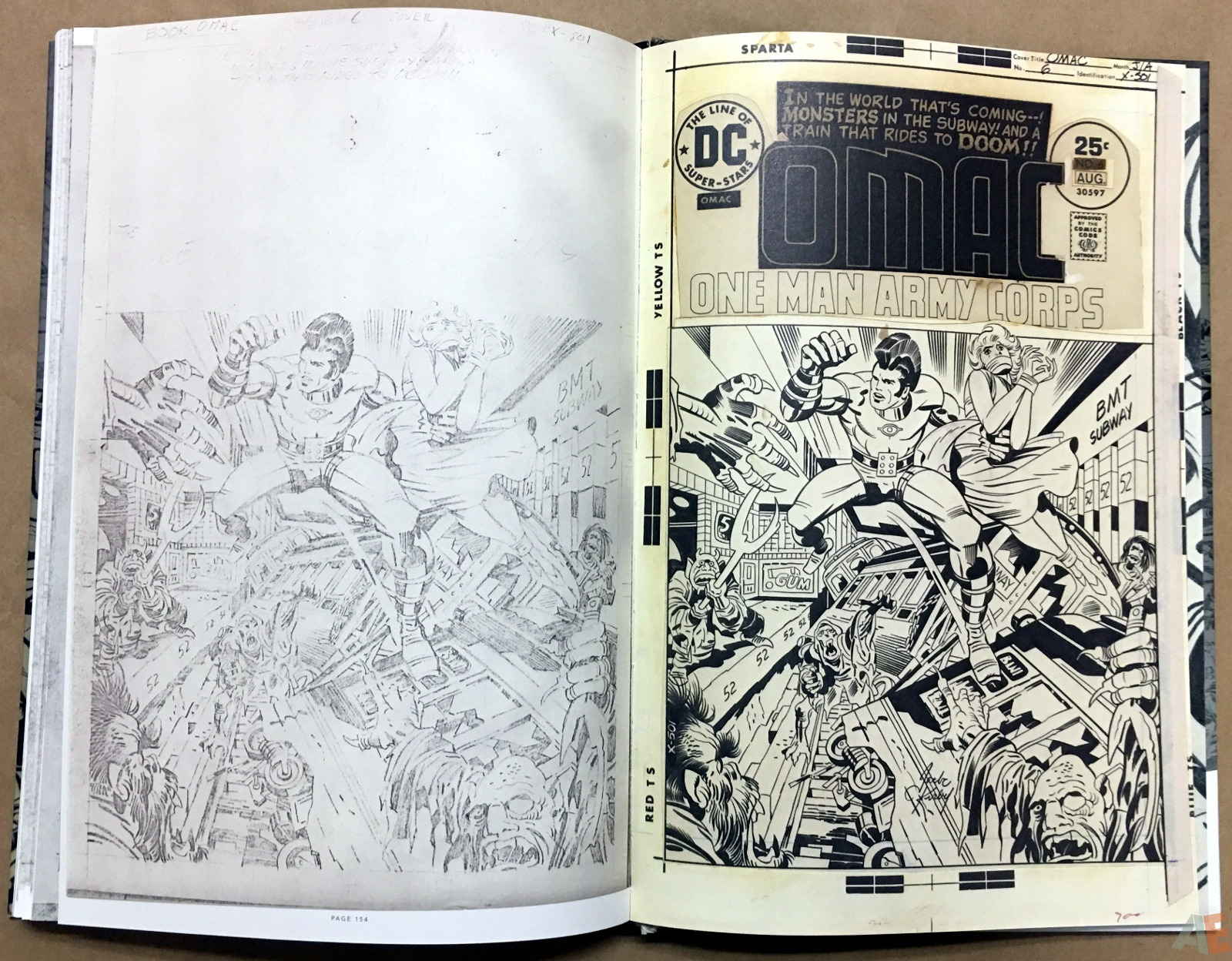 Jack Kirby Pencils And Inks Artisan Edition 36