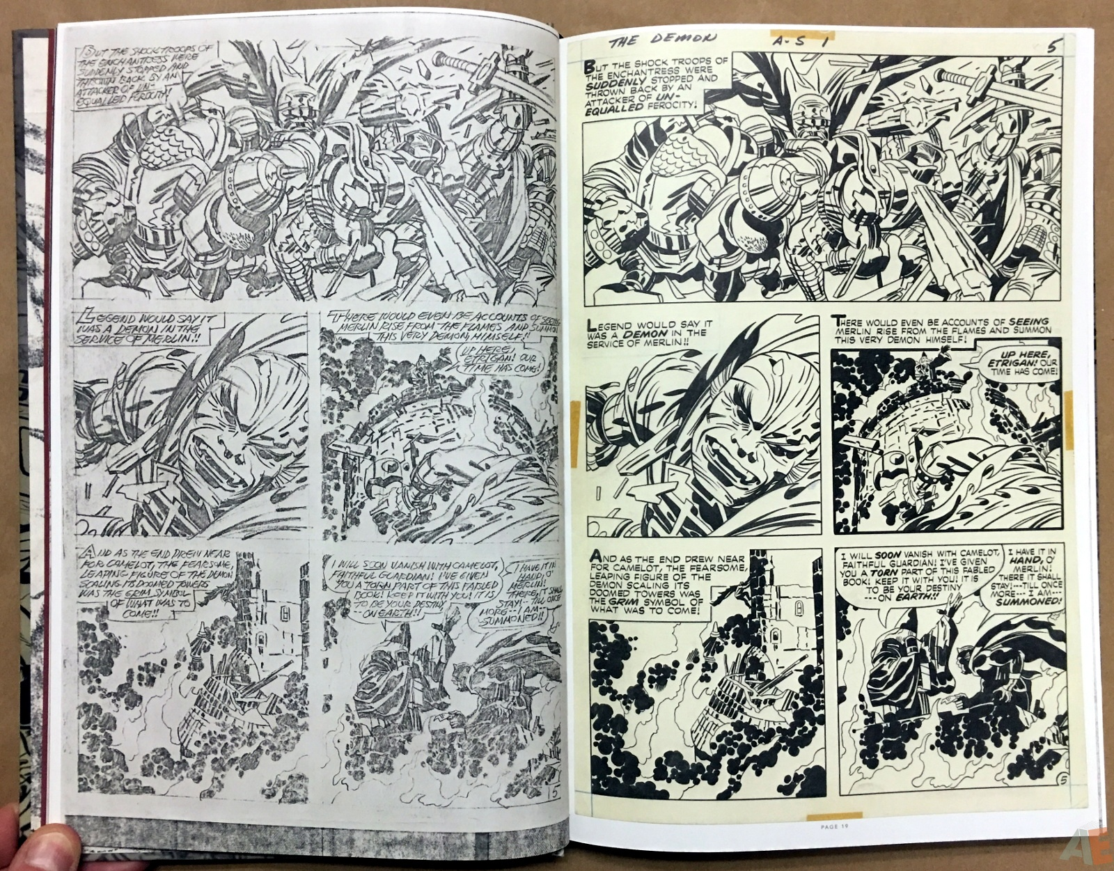Jack Kirby Pencils And Inks Artisan Edition 10