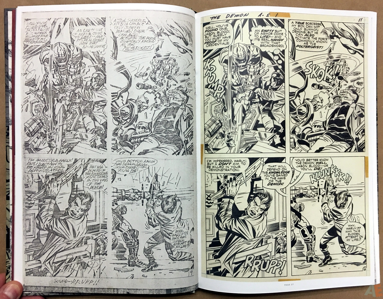 Jack Kirby Pencils And Inks Artisan Edition 12