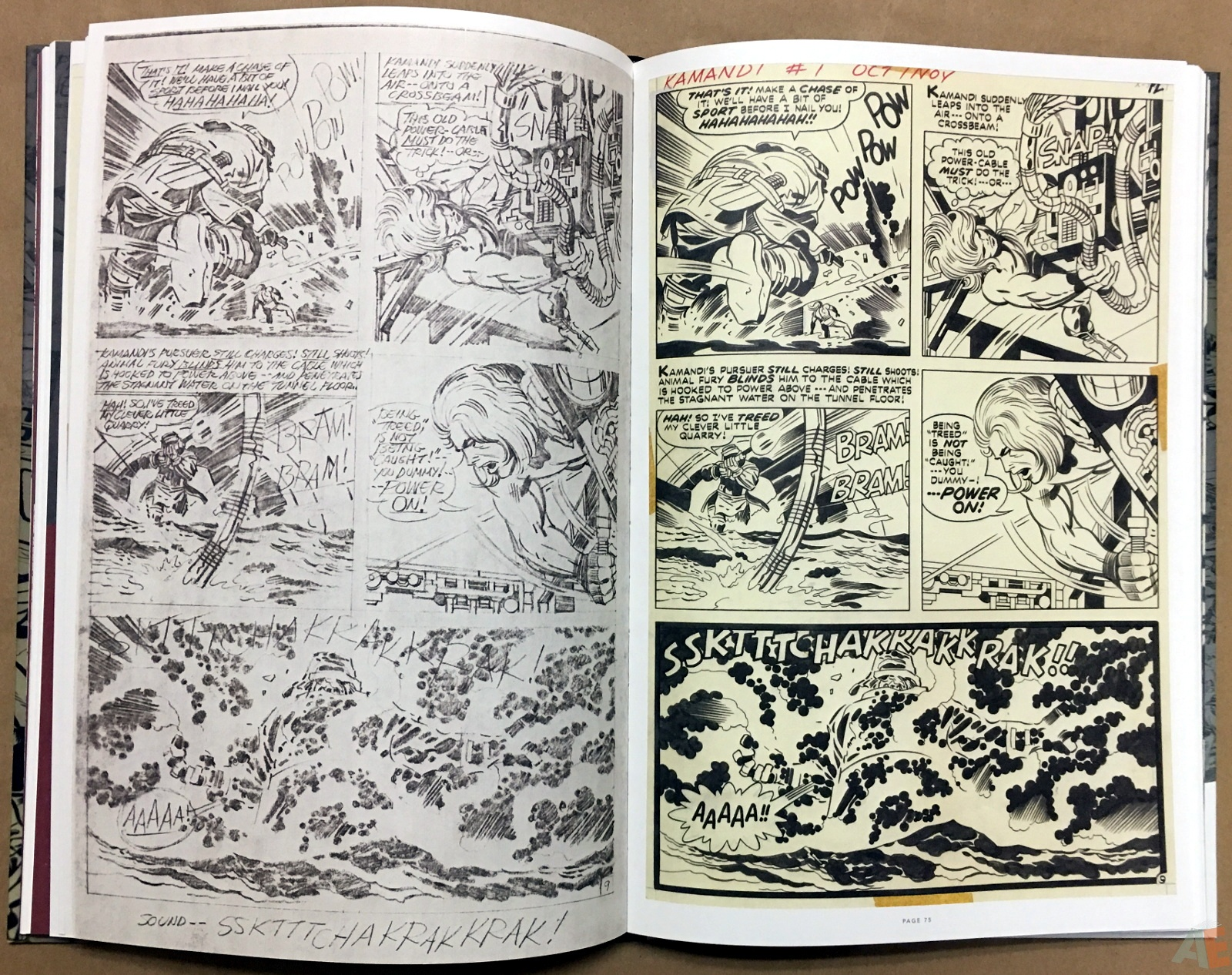 Jack Kirby Pencils And Inks Artisan Edition 20