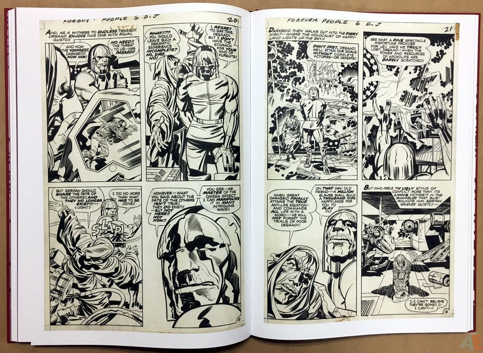 Jack Kirby The Forever People Artist's Edition