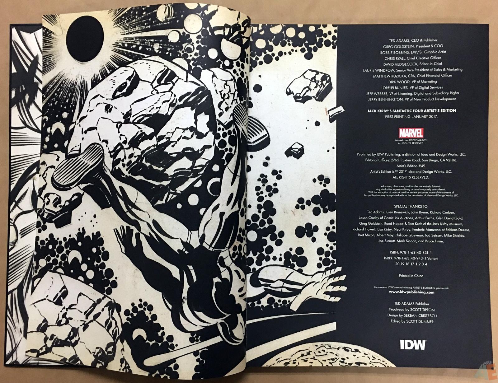 Jack Kirby's Fantastic Four Artist's Edition 4